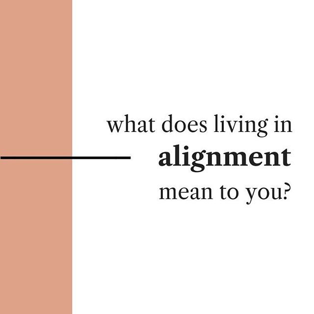 "I thought it'd be fun to get to know each other! And since elevated conversations are the best, I'd love to hear — ⠀⠀⠀⠀⠀⠀⠀⠀⠀ What does ""living in alignment"" mean to you? ⠀⠀⠀⠀⠀⠀⠀⠀⠀ — Here's my kind of alignment: ⠀⠀⠀⠀⠀⠀⠀⠀⠀ - supportive relationships - feeling expanded at the end of the day - going to the spiritual gym ⠀⠀⠀⠀⠀⠀⠀⠀⠀ - outdoors. everything outdoors. 🌿 ⠀⠀⠀⠀⠀⠀⠀⠀⠀ — Share yours below! 👇🏻"