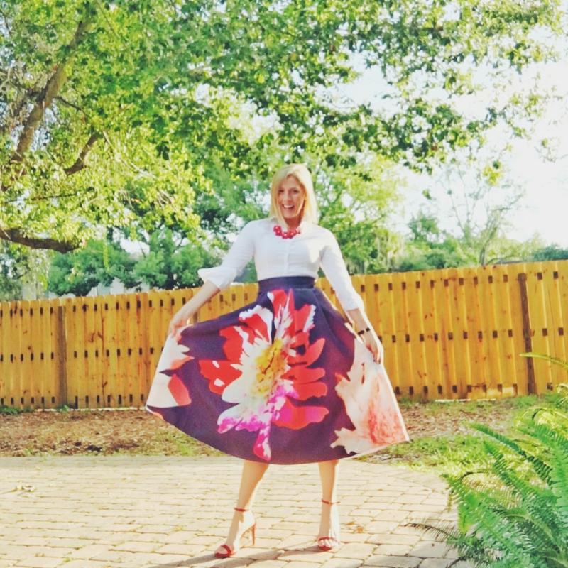 Midi Skirt from SheInside Official