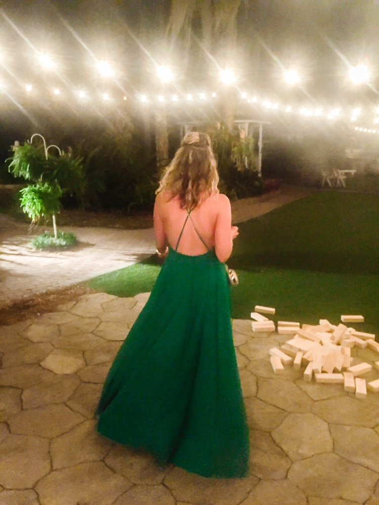Backless, comfy maxi? Yes, please!