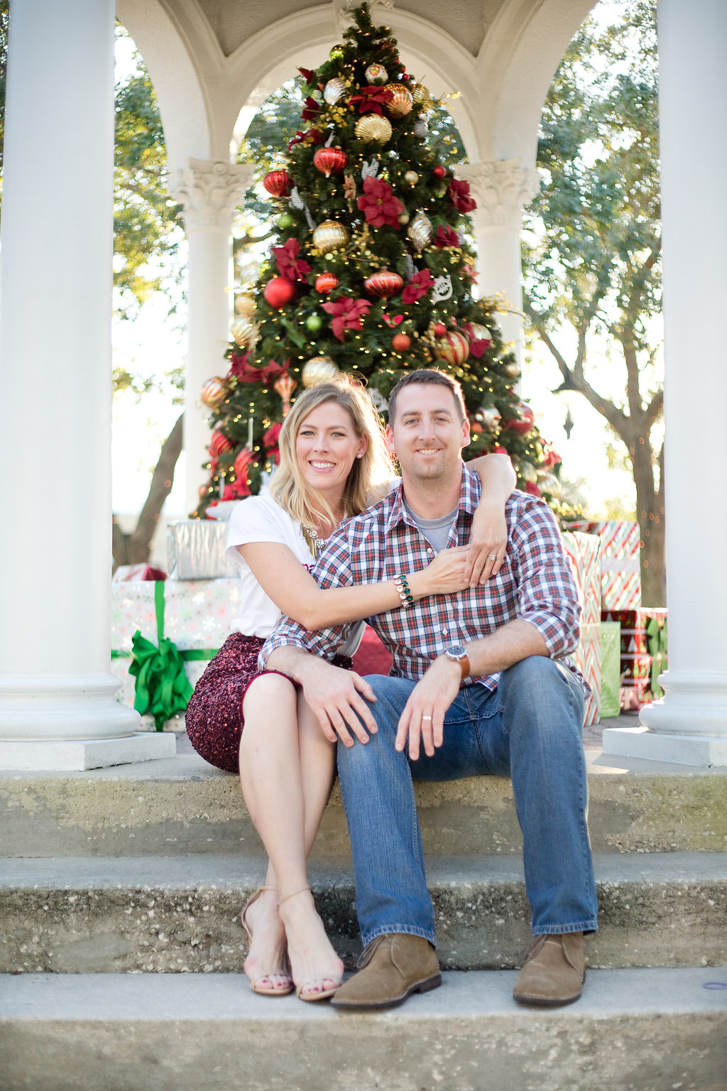 The MacKearney Family   Top US life and style blog, The Borrowed Babes, features Hallmark's Christmas in July