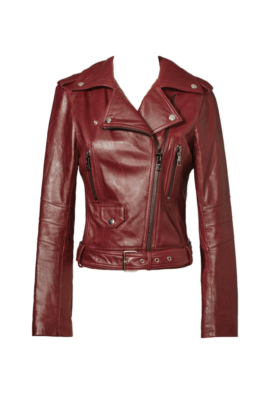Parker Leather Moto Jacket