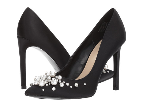 These Nine West heels are available on Zappos and are available in multiple colors up to size 12.