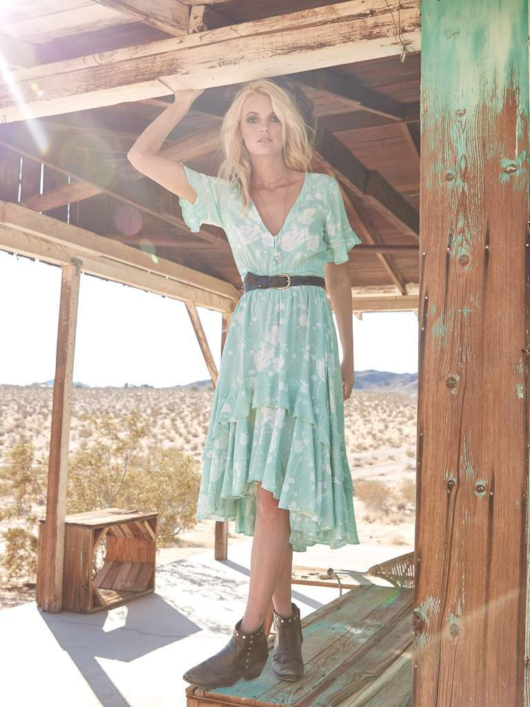 Antigua Midi Dress