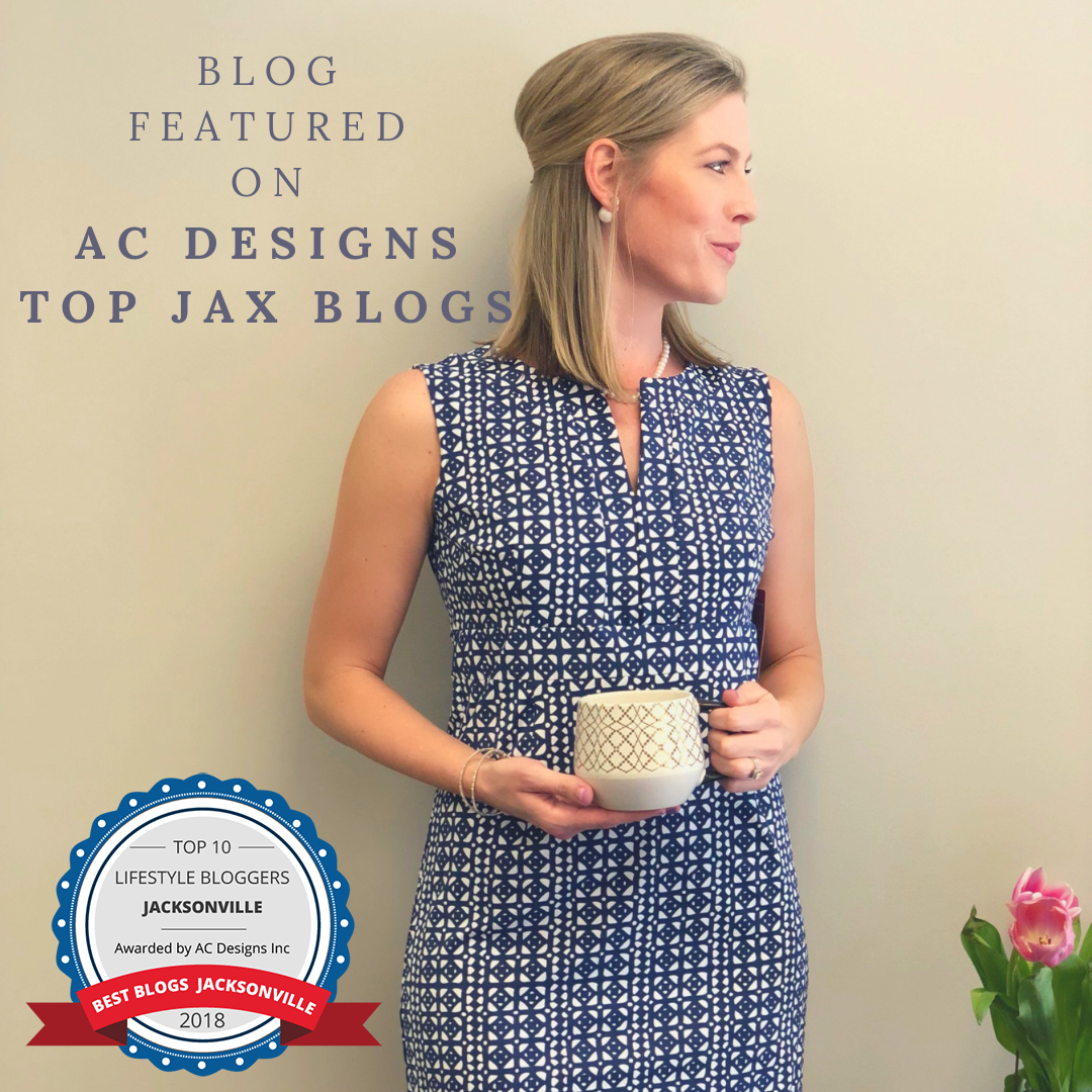 The Borrowed Babes, featured as one of Jacksonville's top lifestyle blog by AC Designs