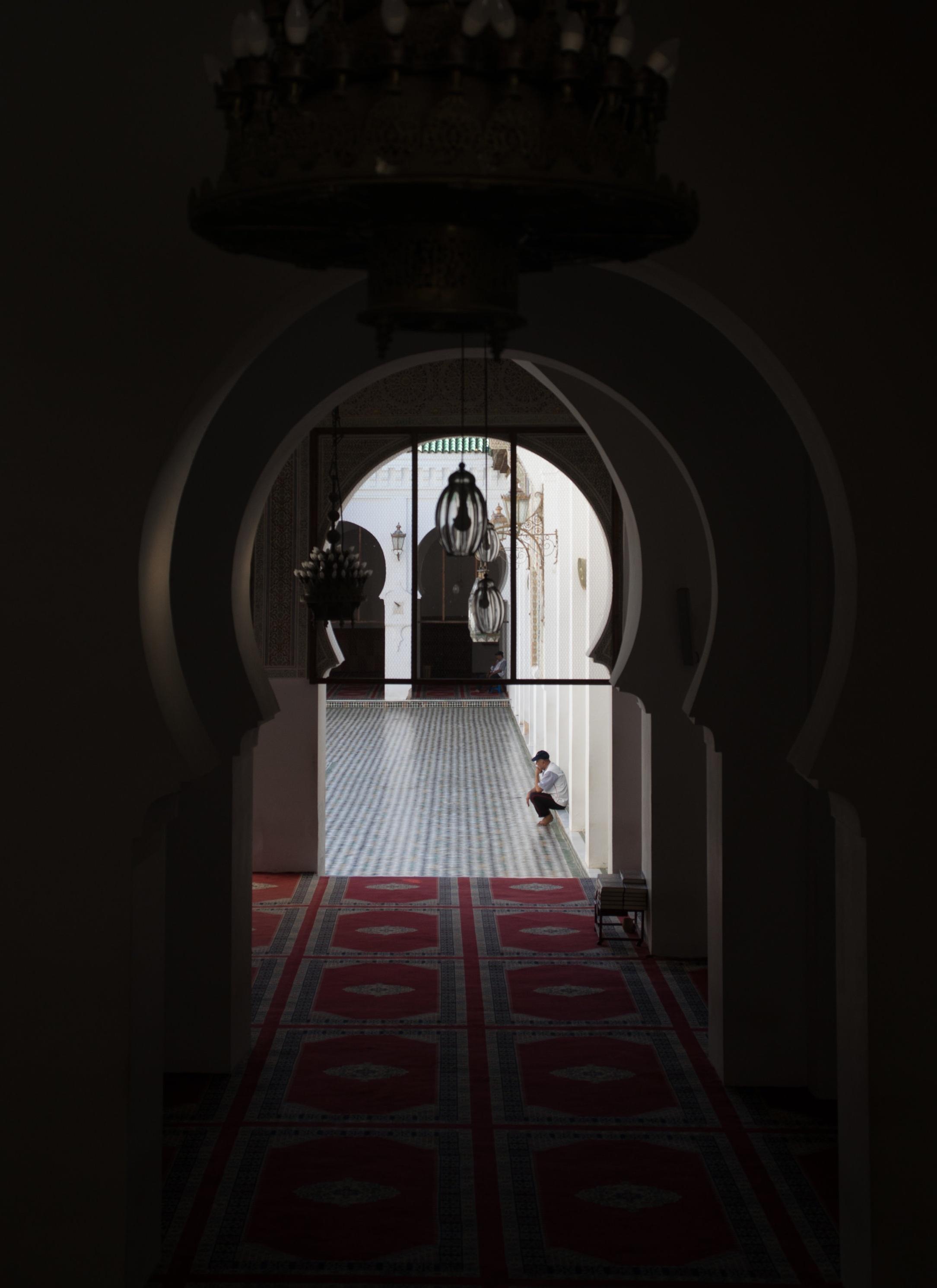 Empty Mosque - Fez, Morocco