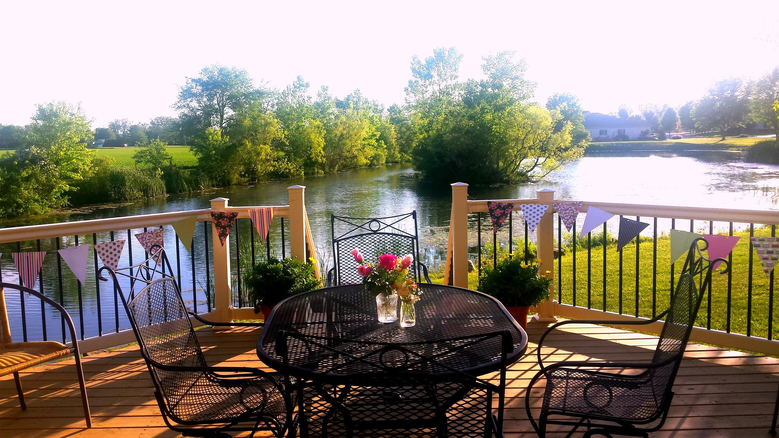 A beautiful summer day at Raven Lake!