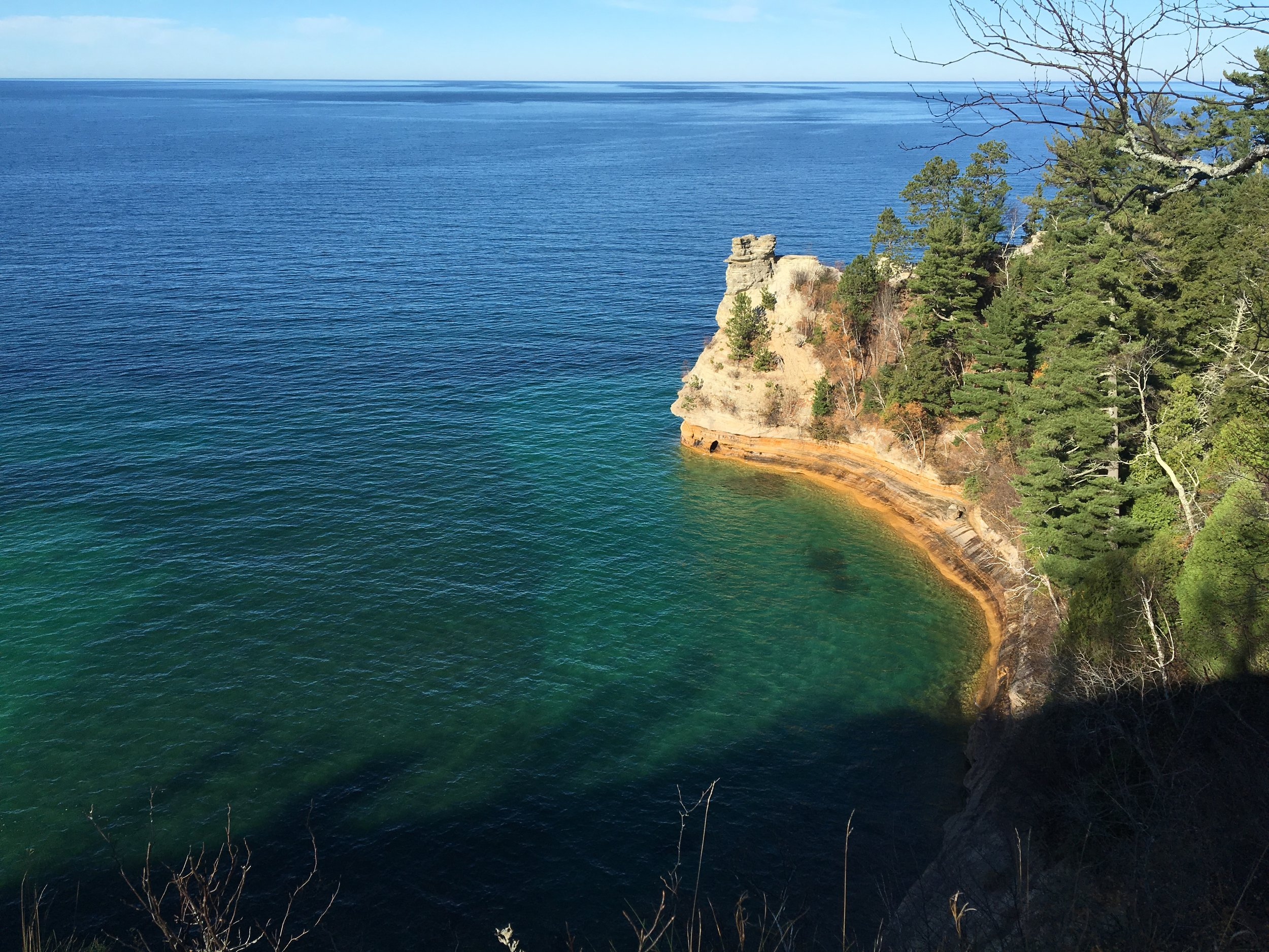 Pictured Rocks Lakeshore. Photo Courtesy of Connor McNeely