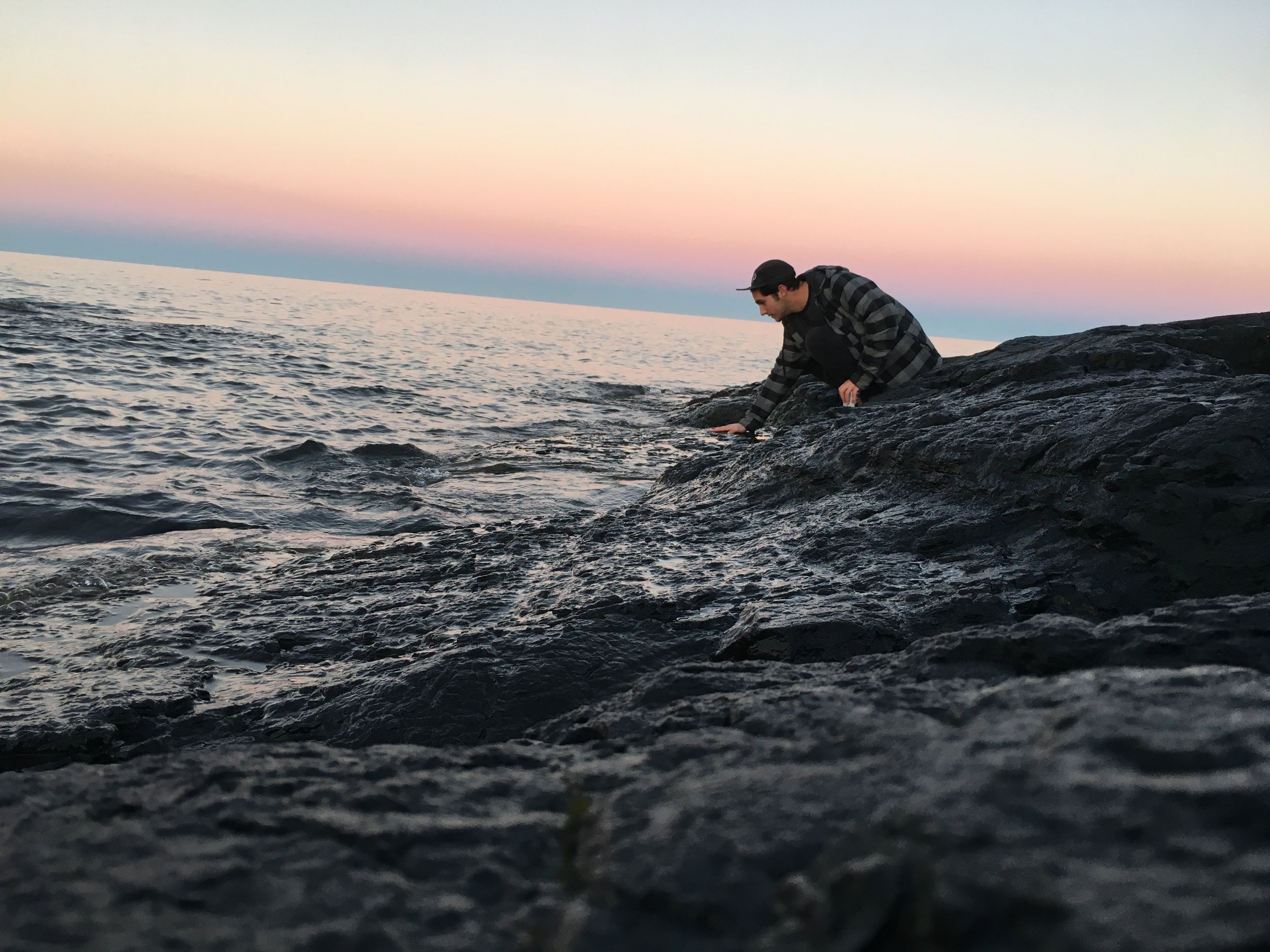 Sunset at Black Rocks. Photo Courtesy of Connor McNeely