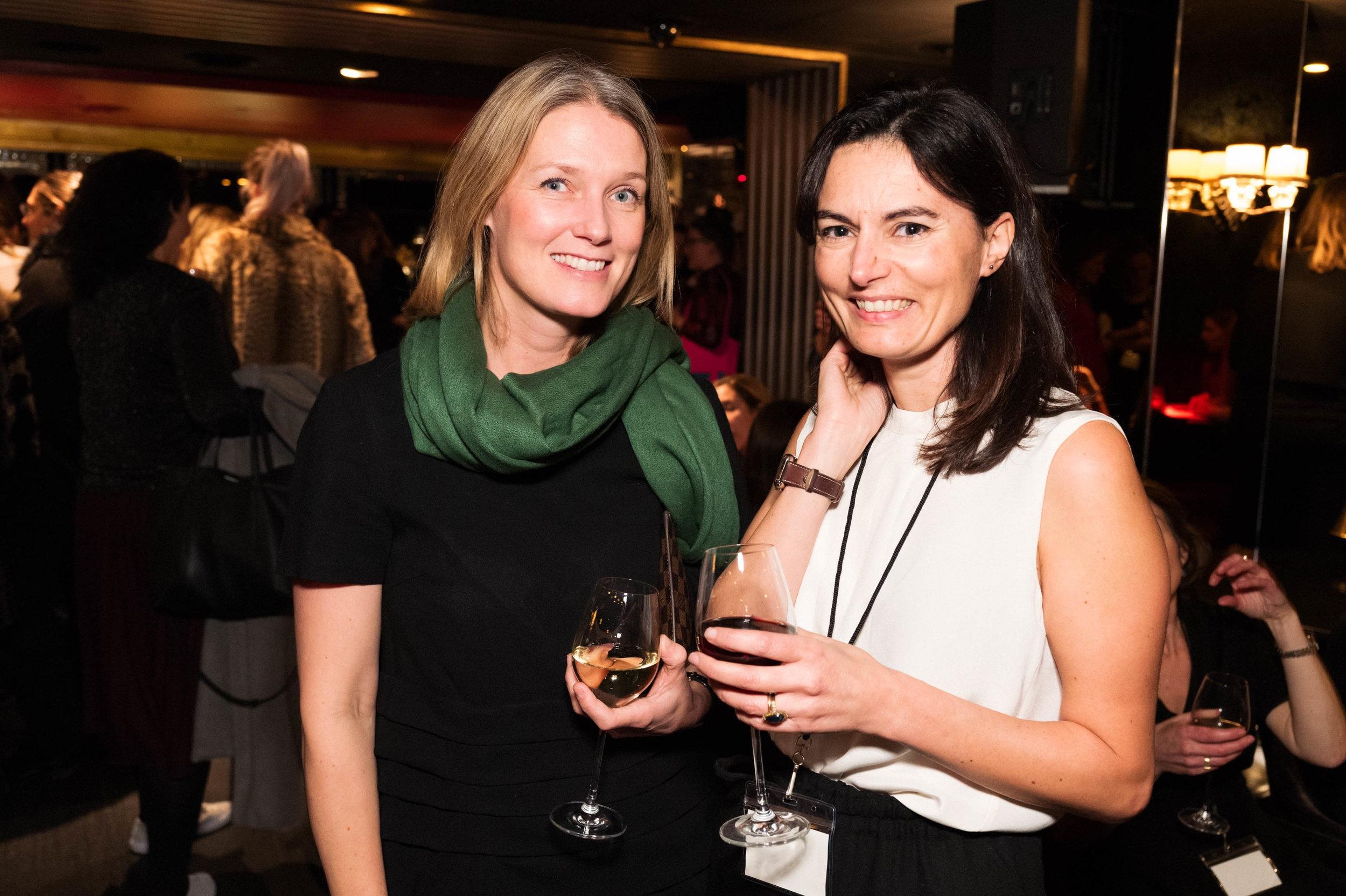 Anne Thidemann and Eleonore Dresch