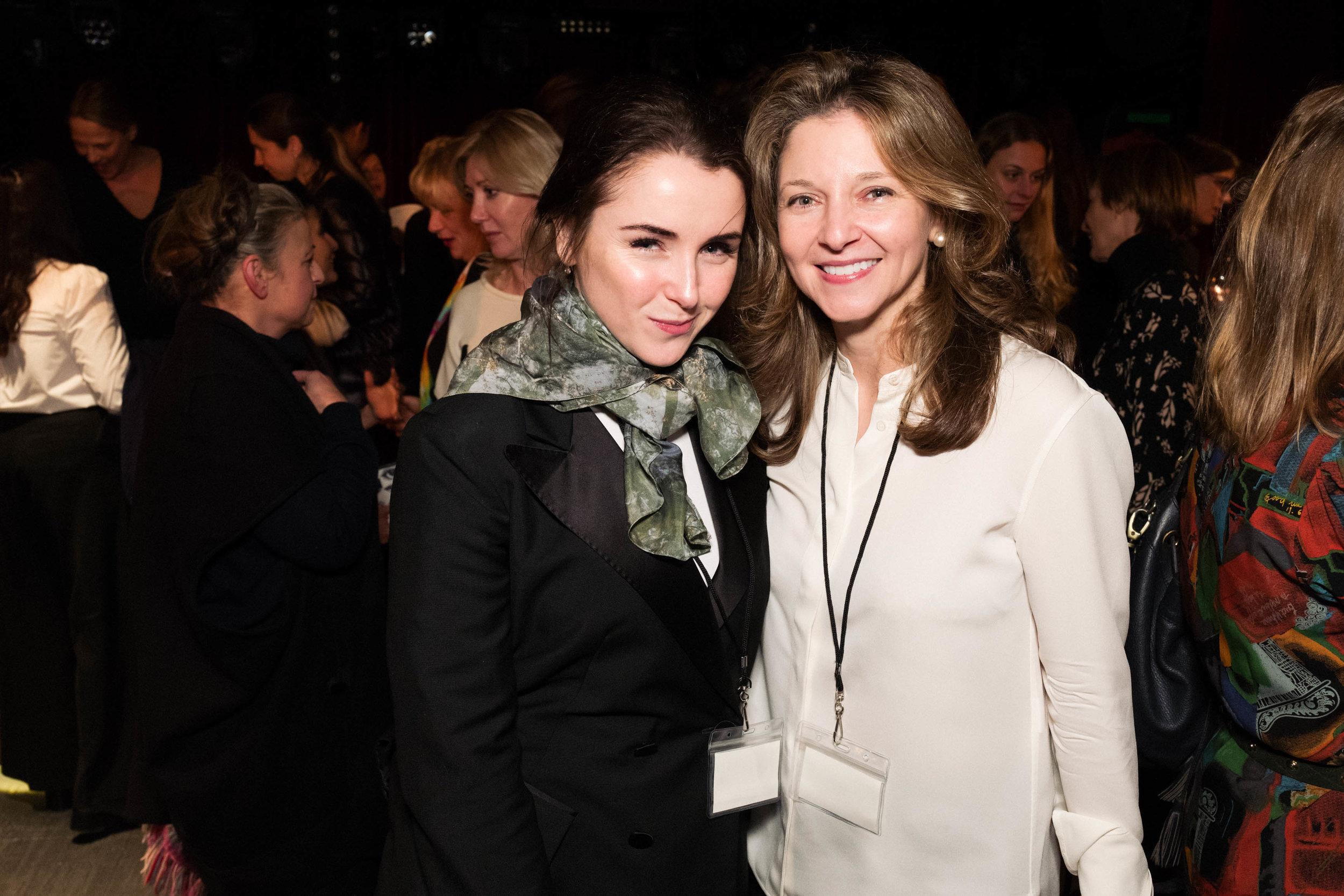 Fiona McGovern and Kate Gordon