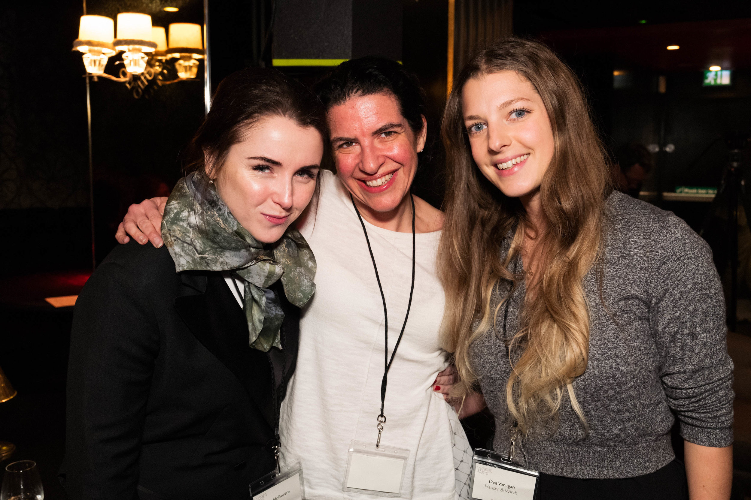 Fiona McGovern, Melanie Gerlis and Dea Vanagan