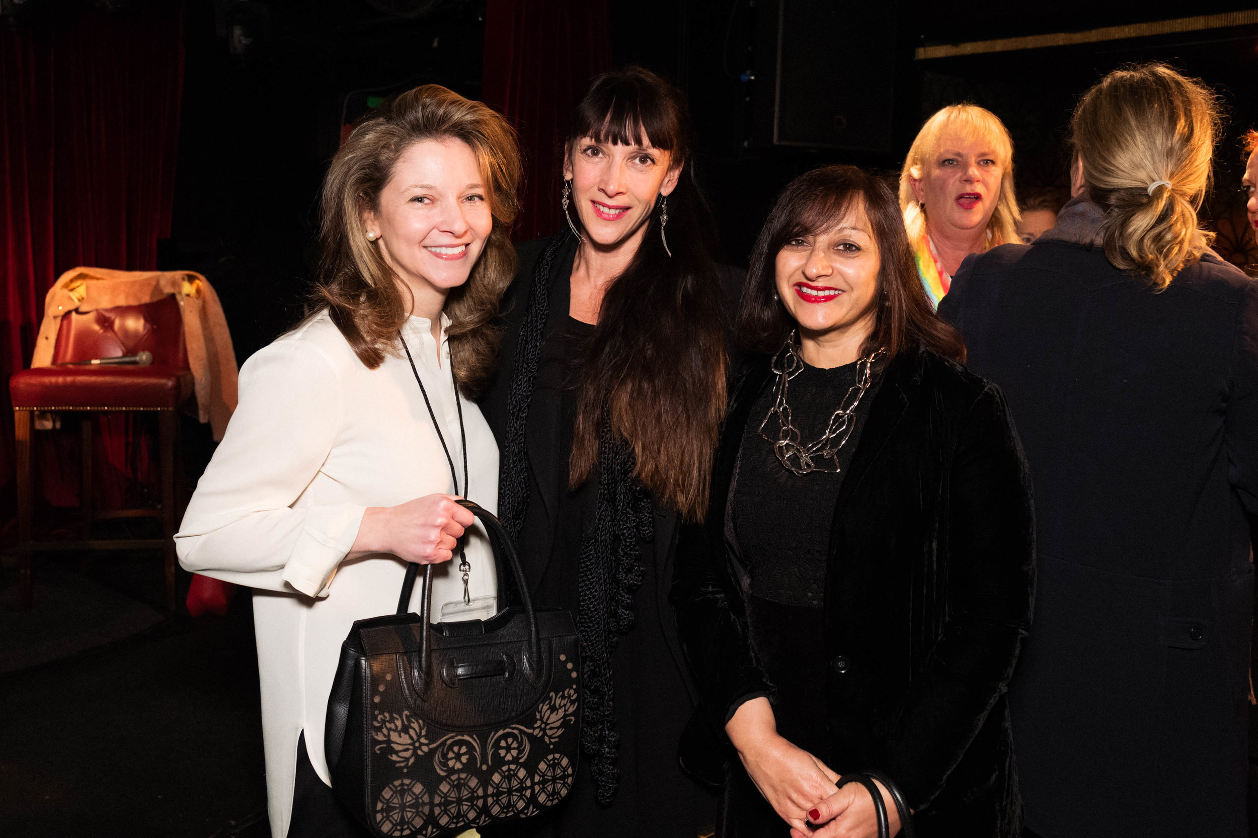 Kate Gordon, Tamara Salman and Selma Day
