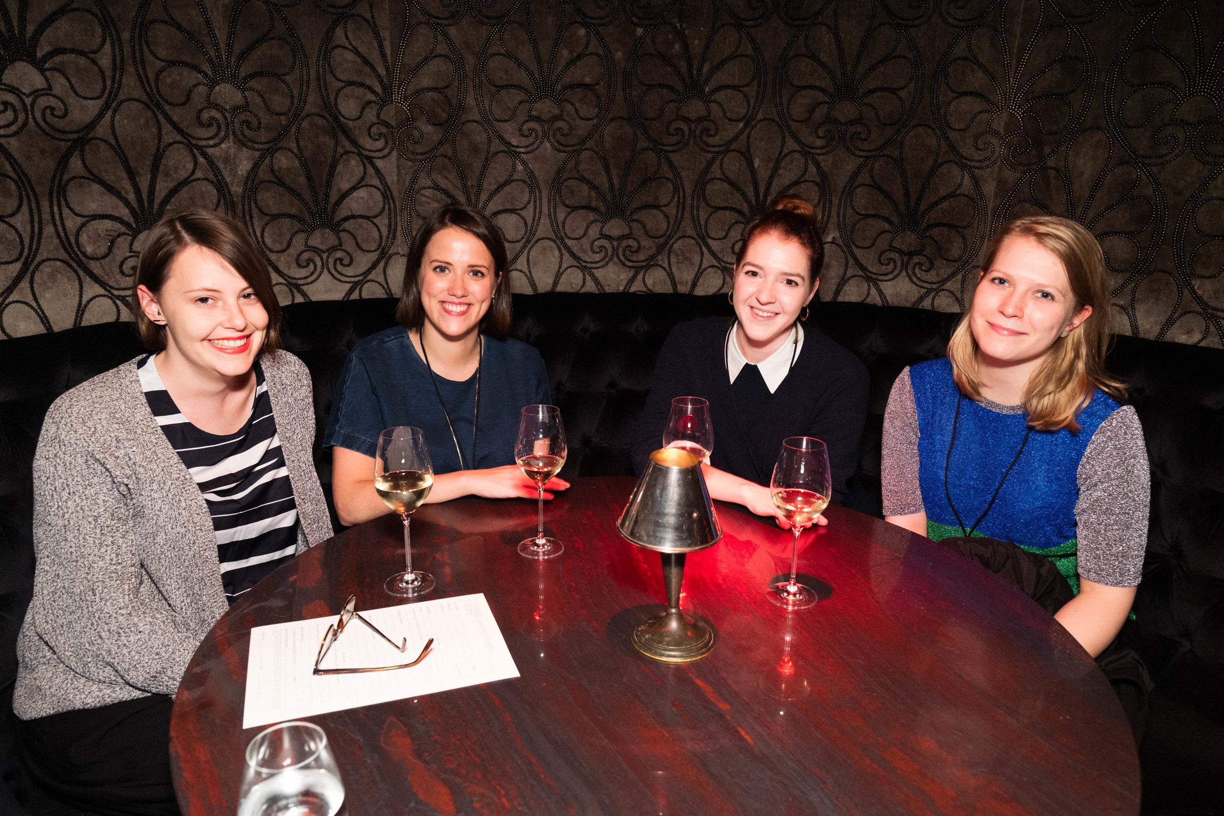 Leah Swain, Rosie O'Reilly, Niamh Morgan and Nerissa Taysom