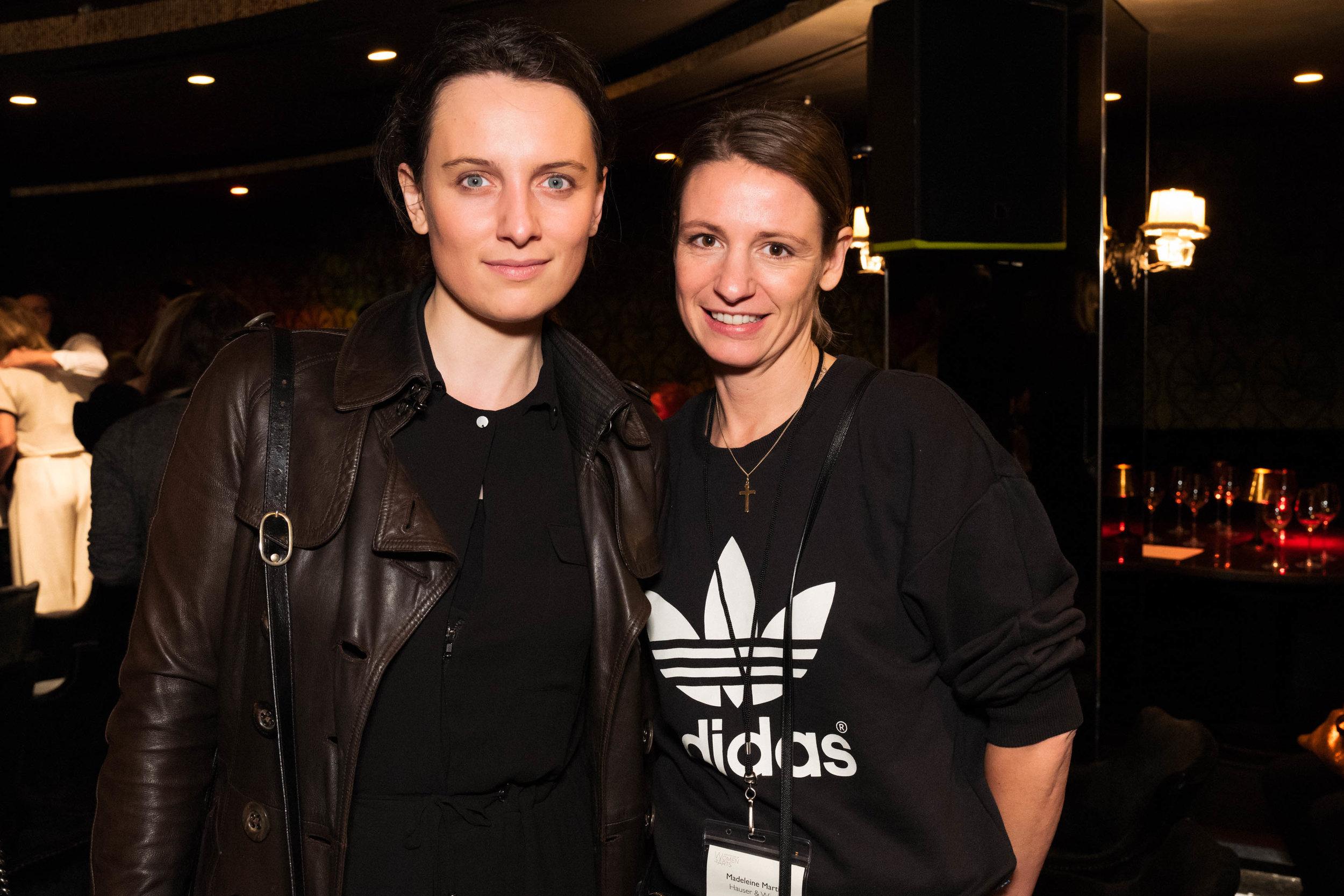 Anna Szkalska and Madeleine Martin