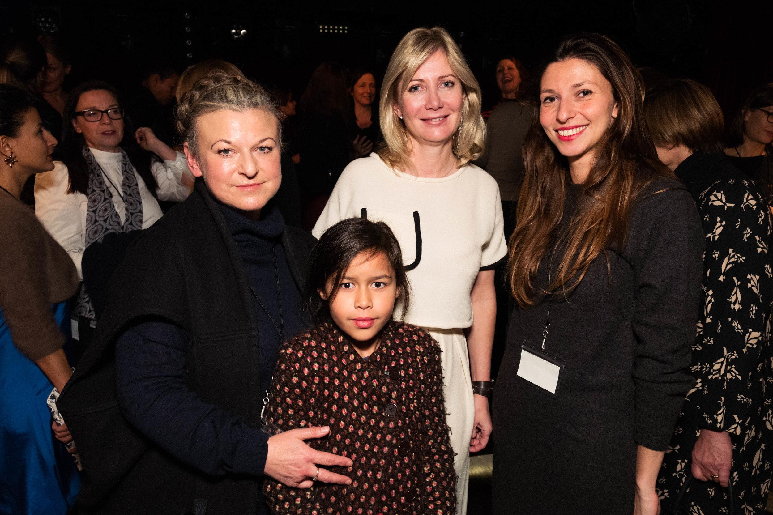 Esther Windsor, Sigrid Kirk and Ksenia Zemtsova