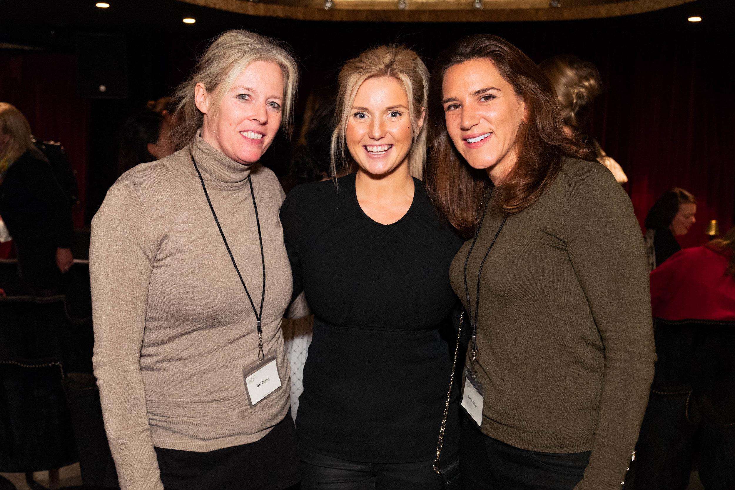 Gail Olding, Katrina Aleksa and Joanna Gilbert