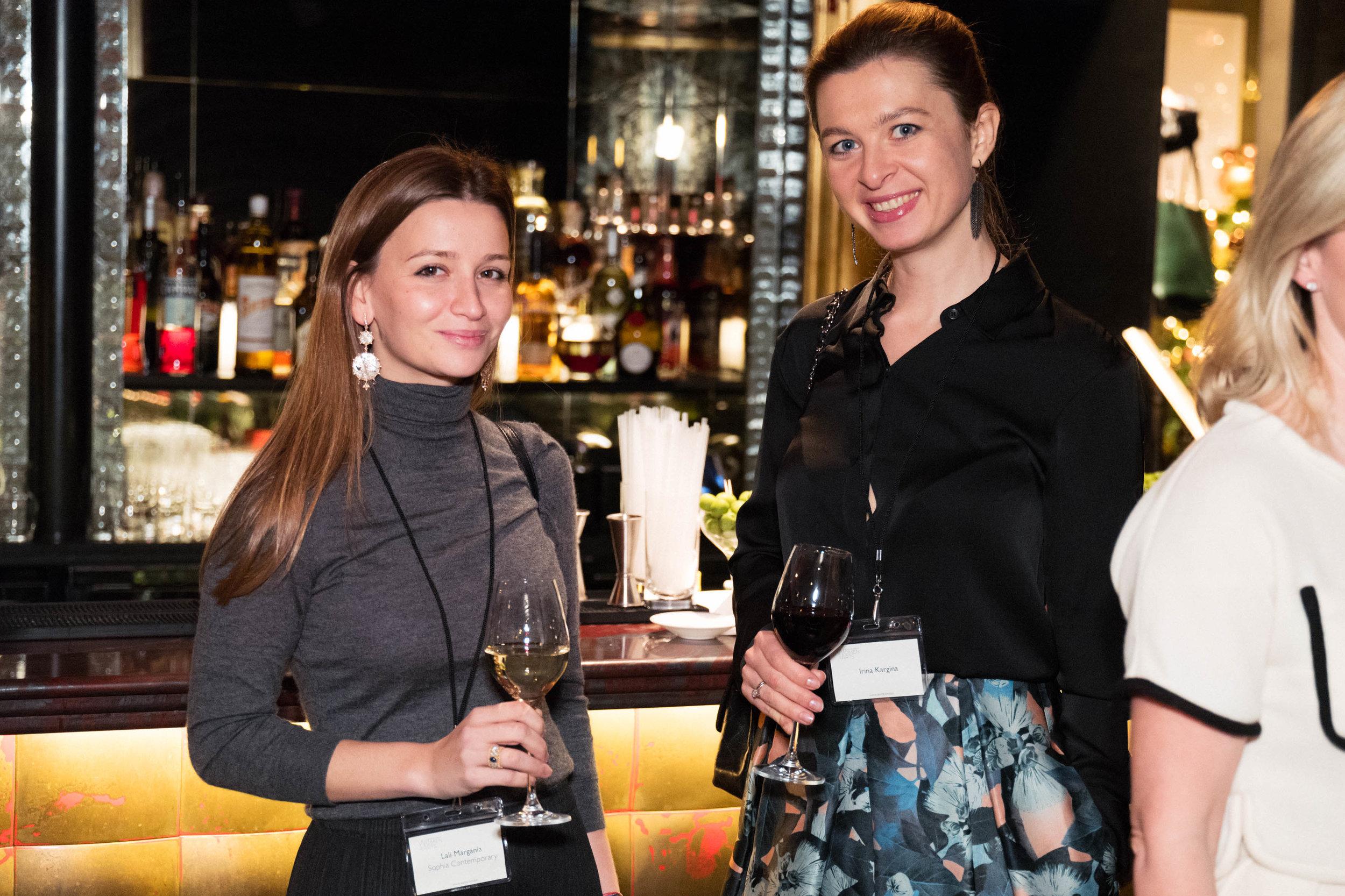 Lali Margania and Irina Kargina