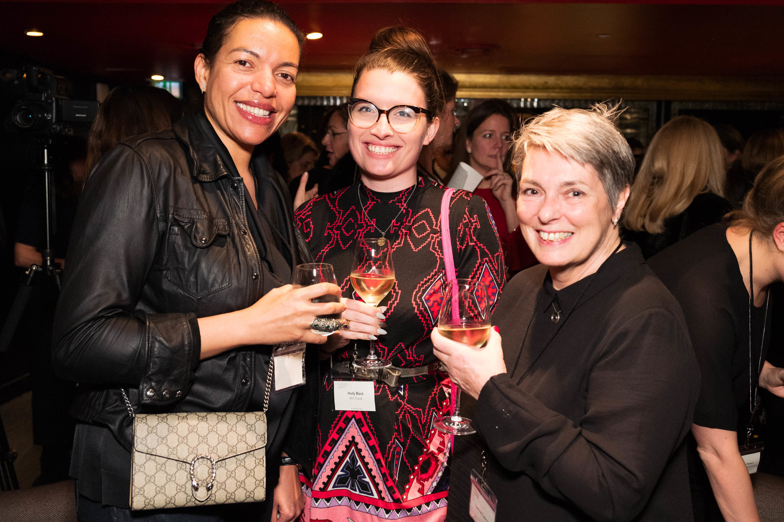 Melanie Grant, Holly Black and Lindsay Cameron