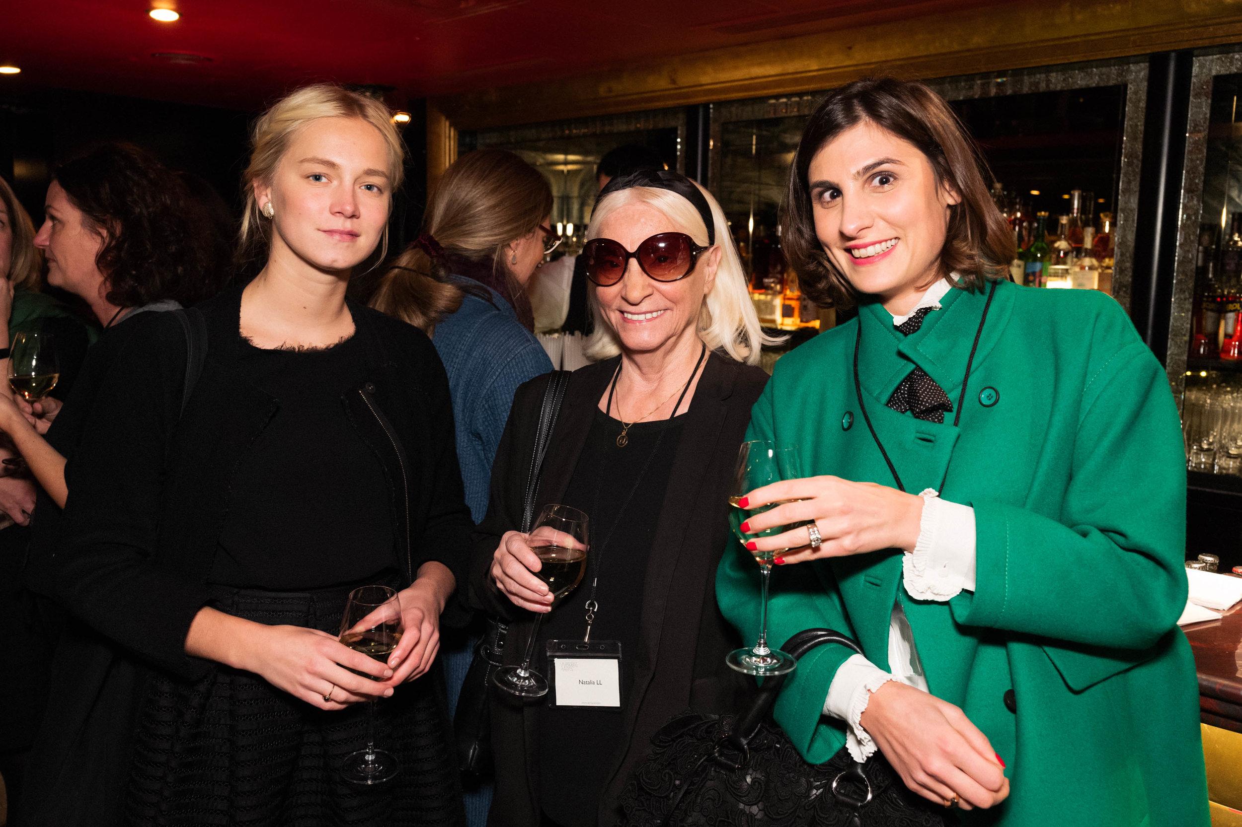 Mia Dudek, Natalia LL and Marisa Bellani