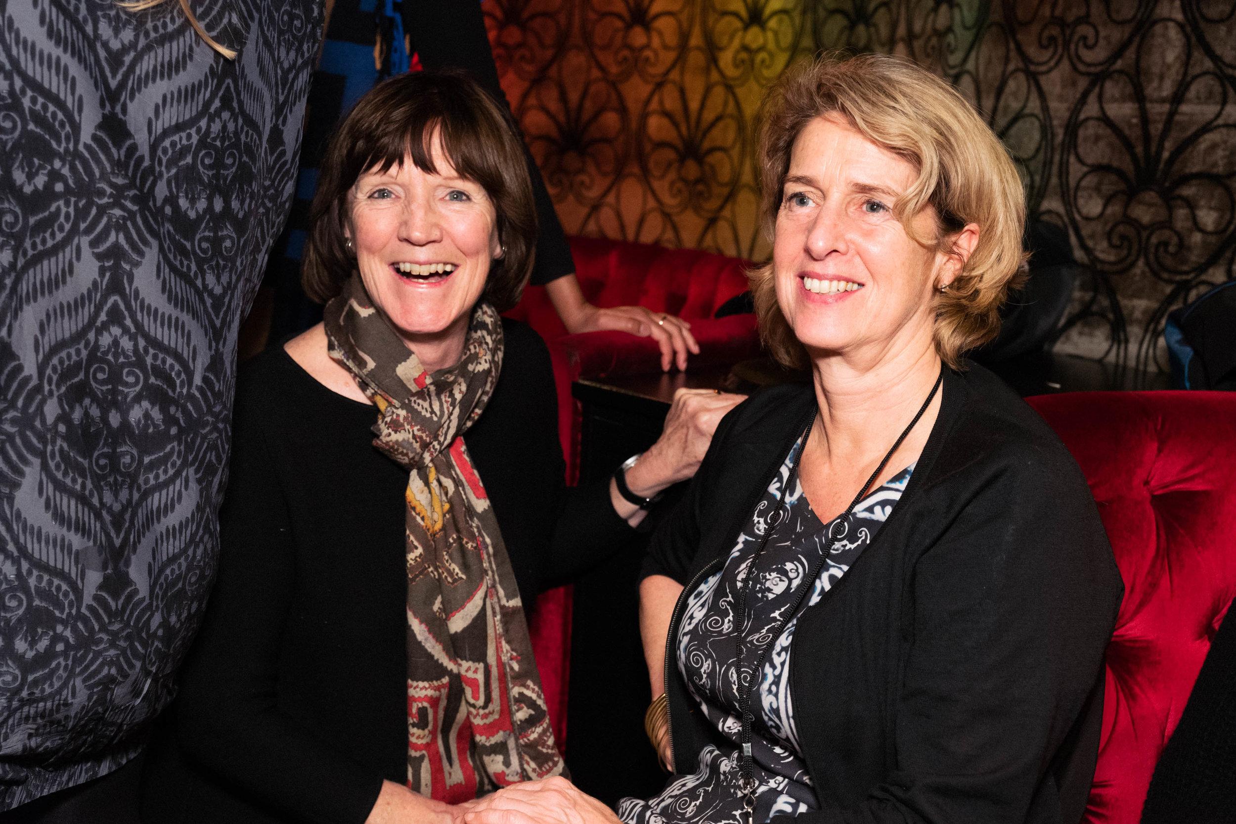 Prue O' Day and Penny Johnson CBE
