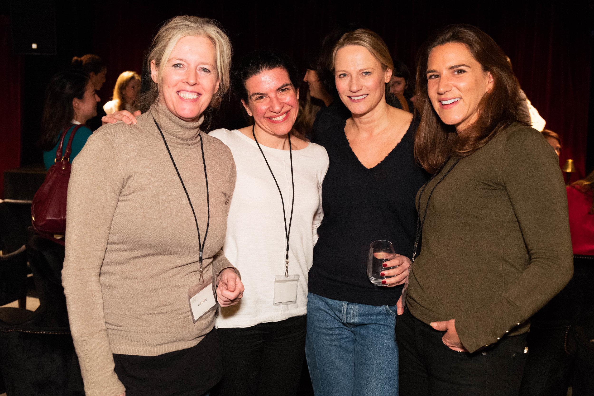 Gail Olding, Melanie Gerlis, Cheyenne Westphal and Joanna Gilbert