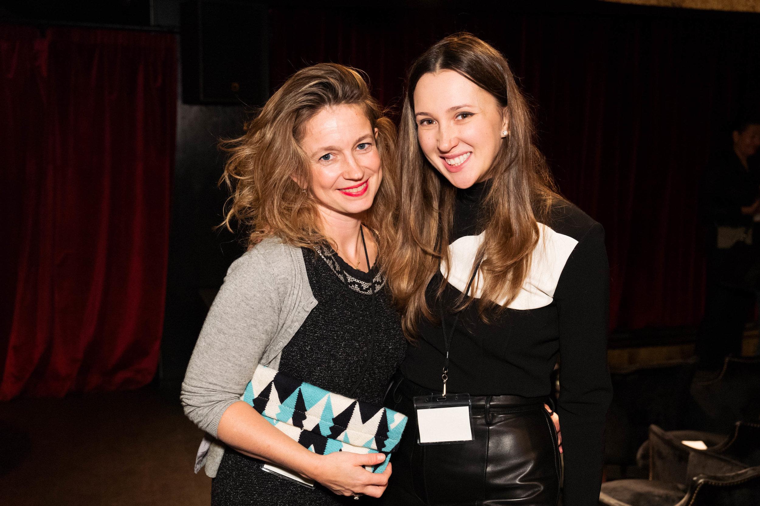 Isabelle Paagman and Maria Baibakova