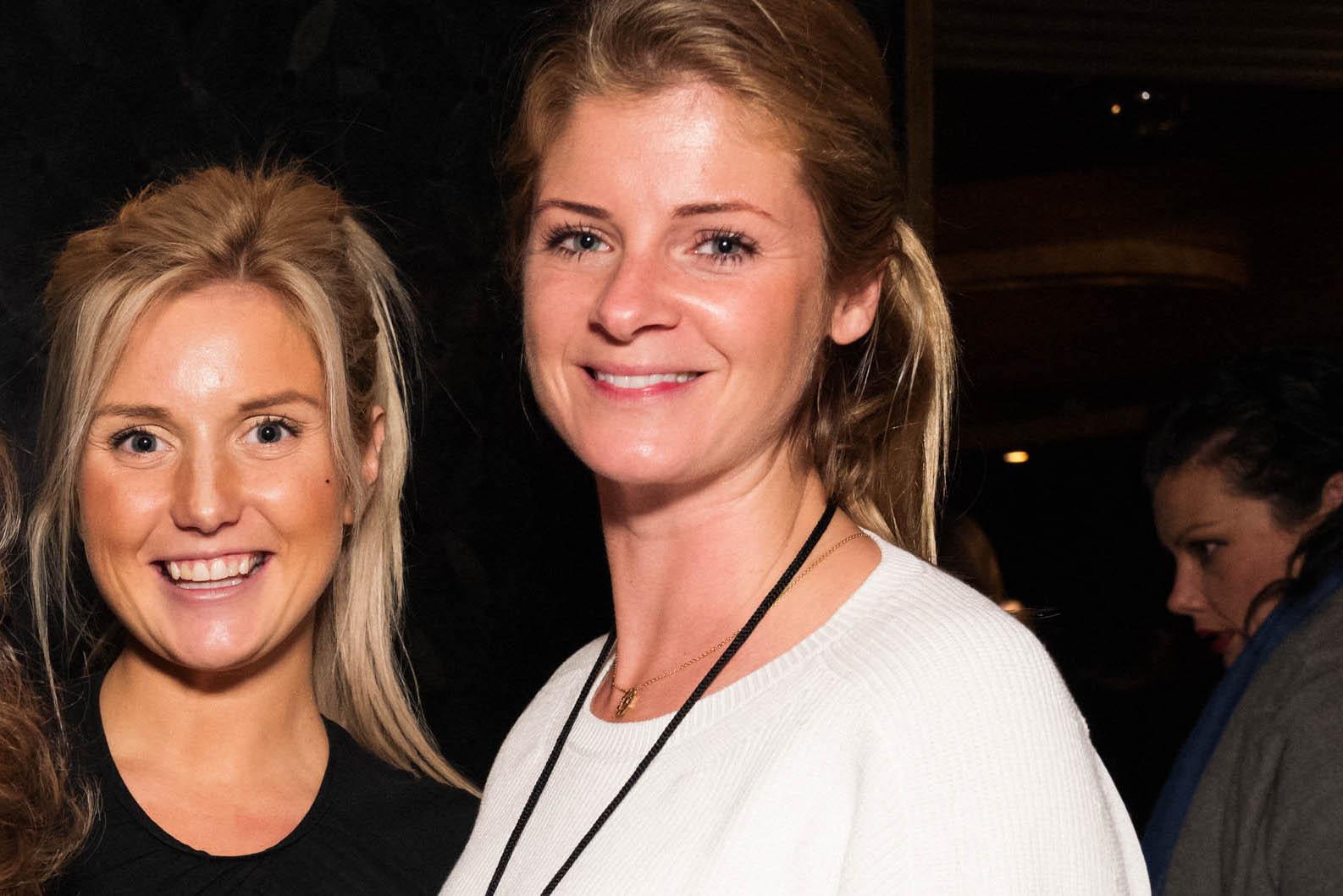 Katrina Aleksa and Aurore Ogden
