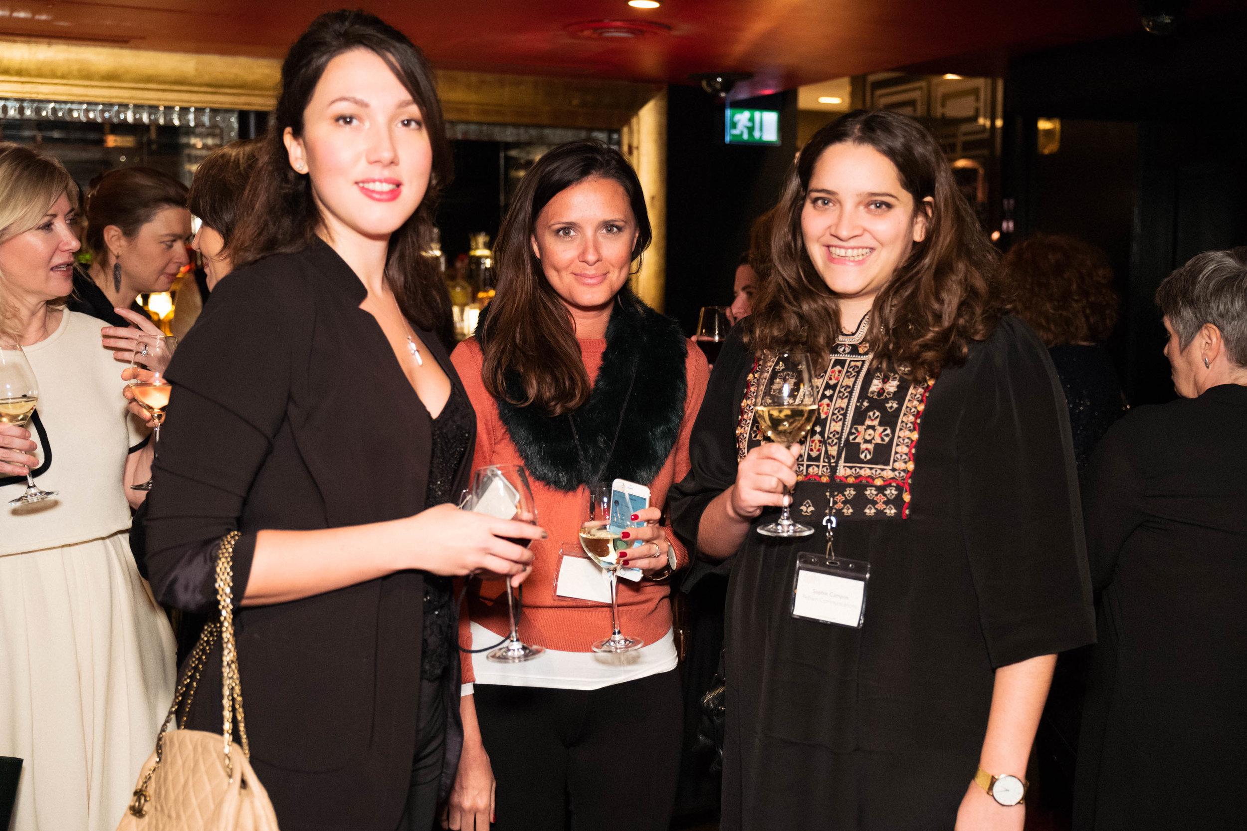 Anastasia Petrovskaya, Mary Agnew and Sophie de Gama Campos
