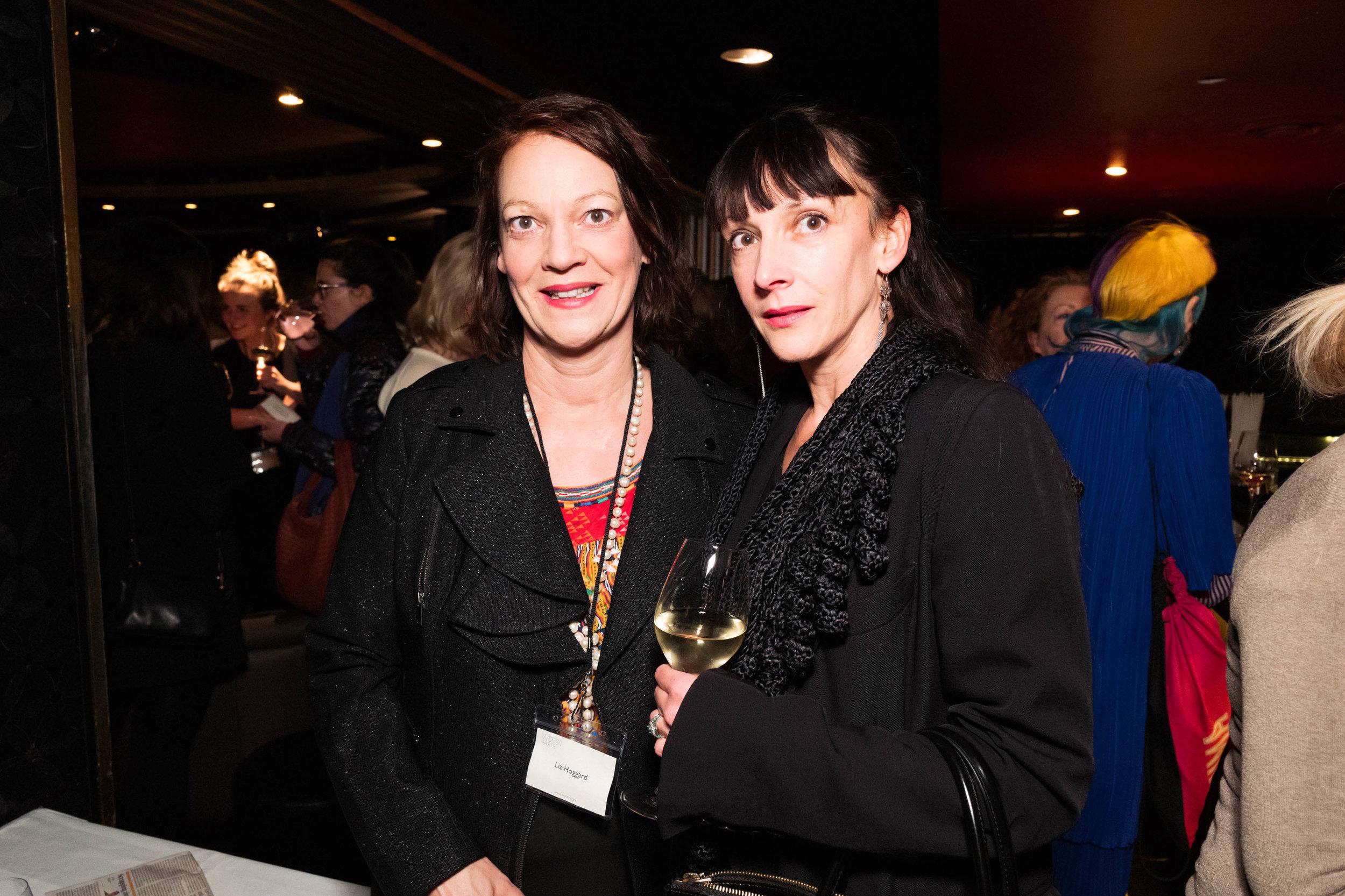 Liz Hoggard and Tamara Salman
