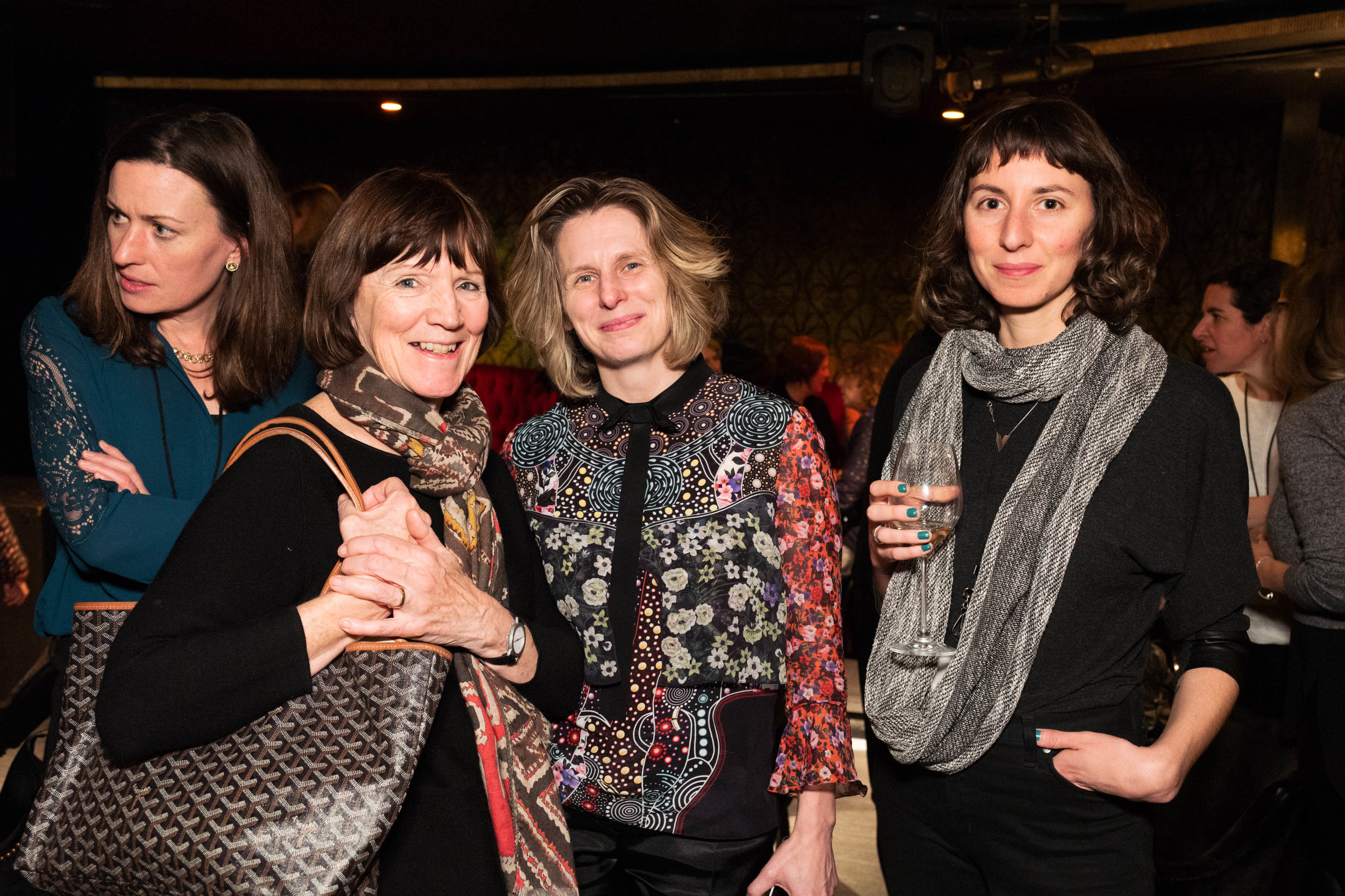 Prue O'Day, Kirsten Dunne and Laura Castagnini