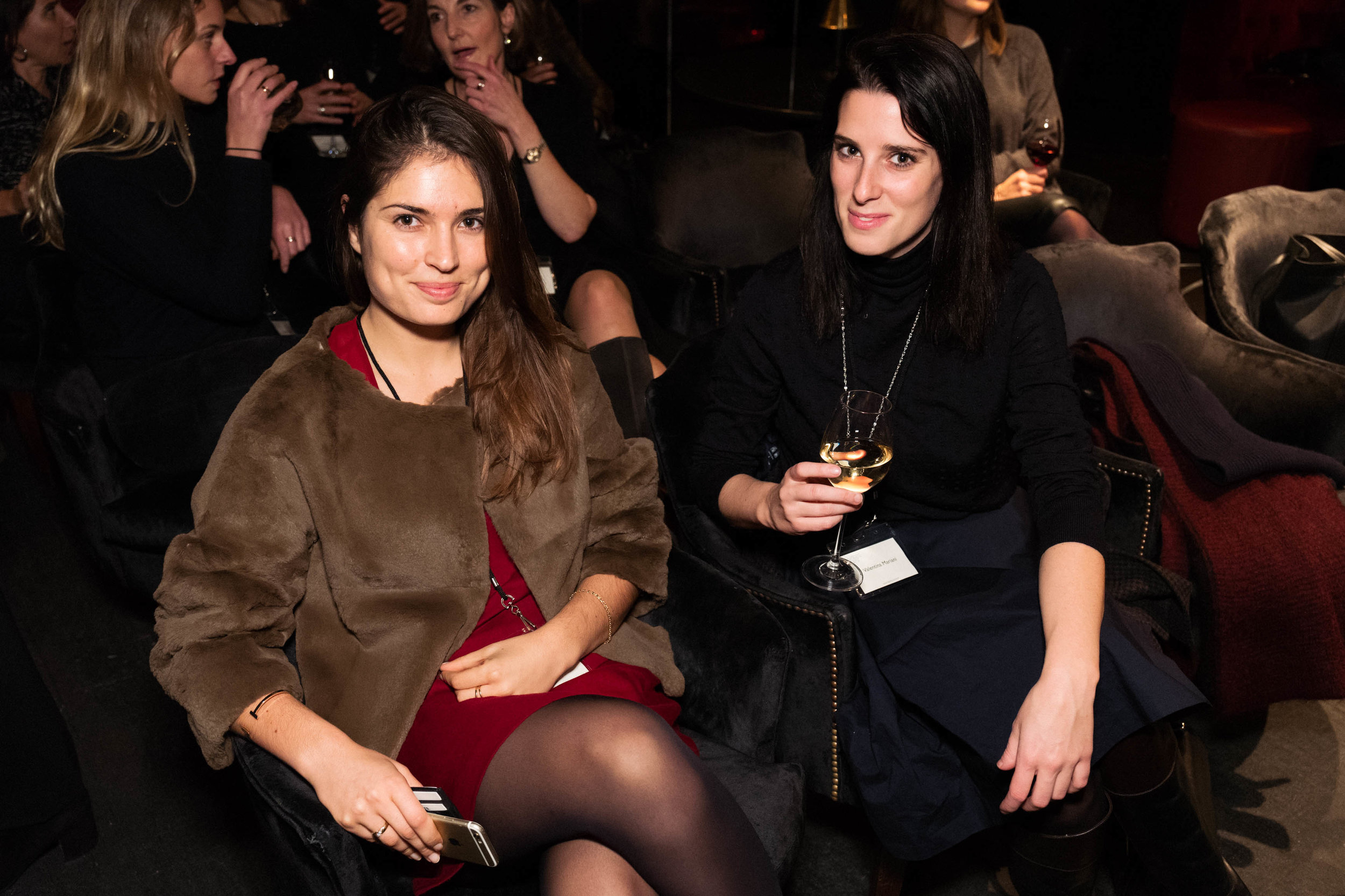 Marine Tanguy and Valentina Mariani