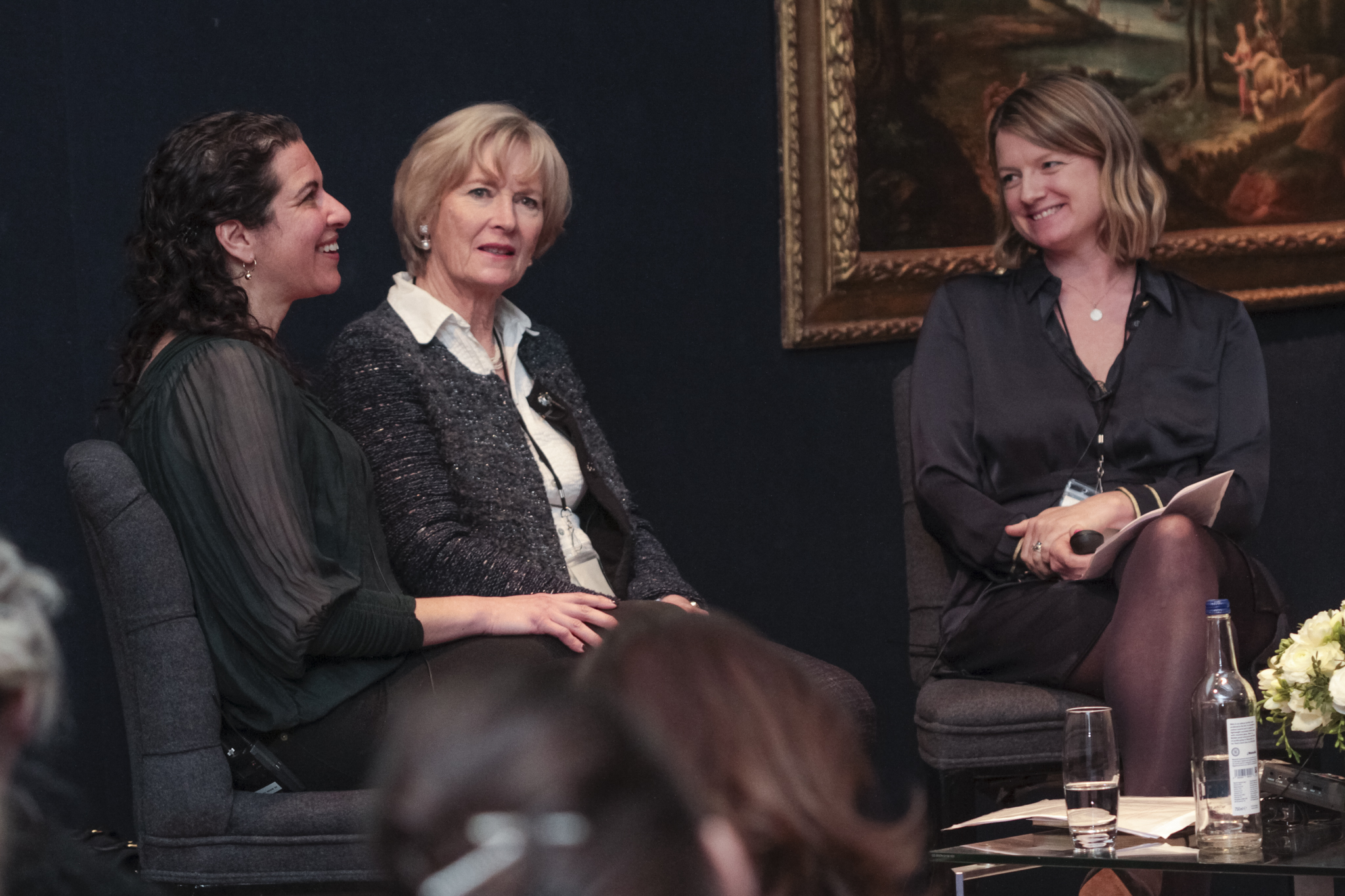 Melanie Gerlis, Georgina Adam and Sophie Macpherson