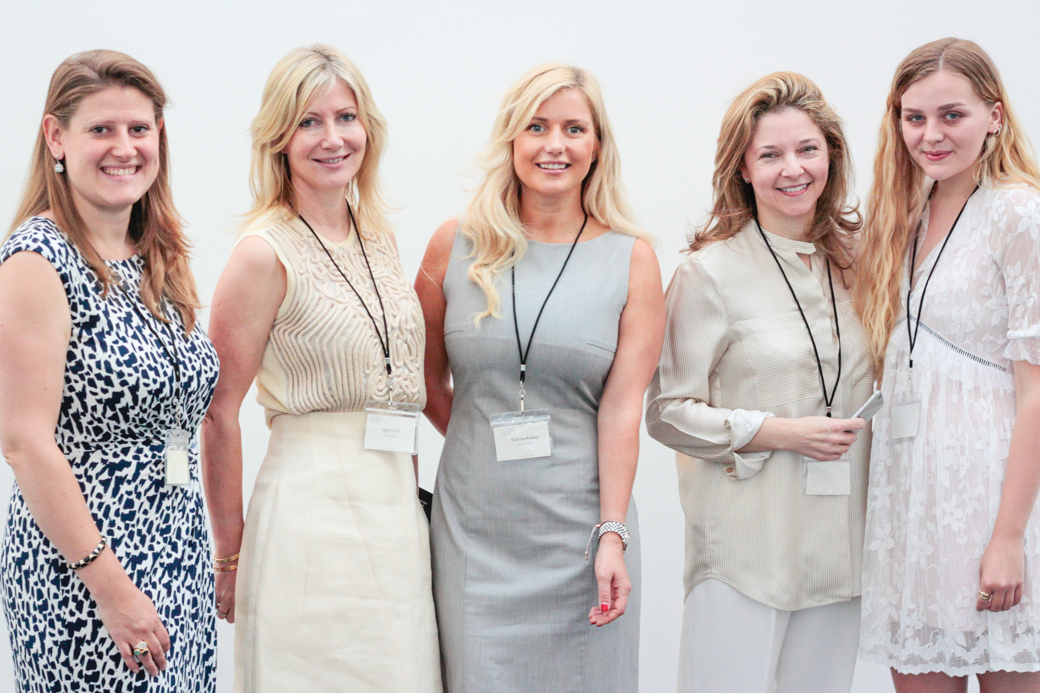 Theodora Clarke, Sigrid Kirk, Katrina Aleksa, Kate Gordon and Hannah Clynch