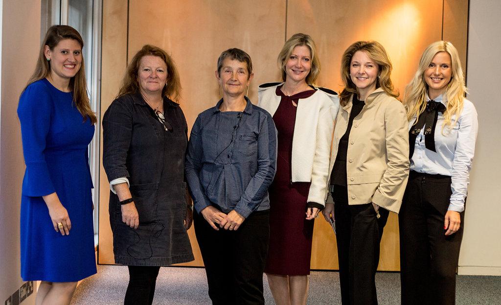 Theodora Clarke, Rachel Whiteread, Frances Morris, Sigrid Kirk, Kate Gordon and Katrina Aleksa