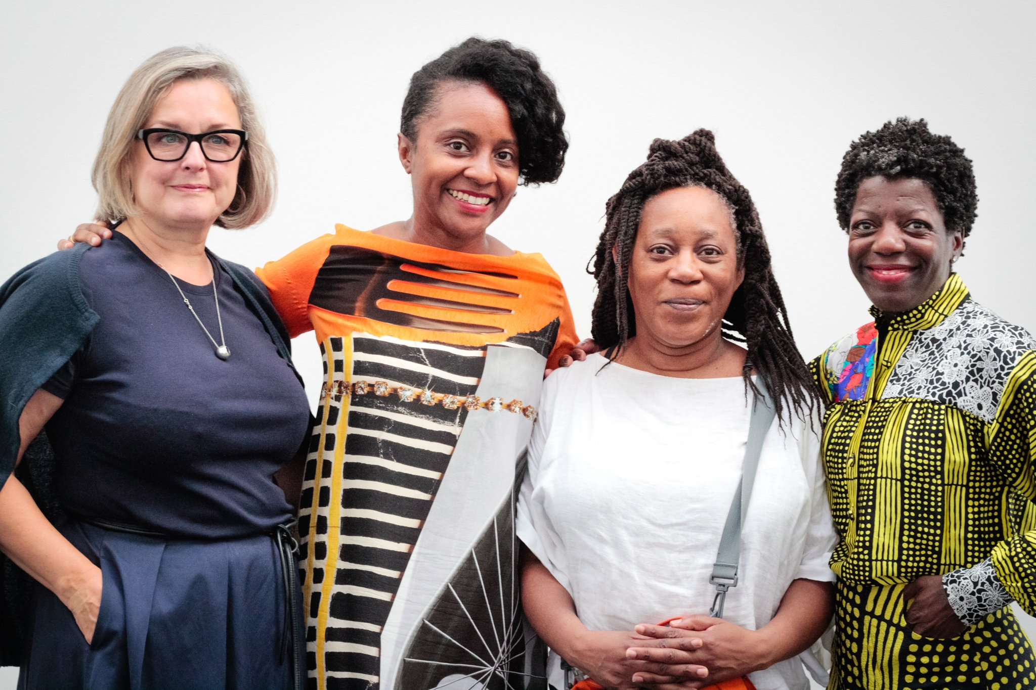 Caroline Douglas, Zoe Whitley, Sonia Boyce and Thelma Golden