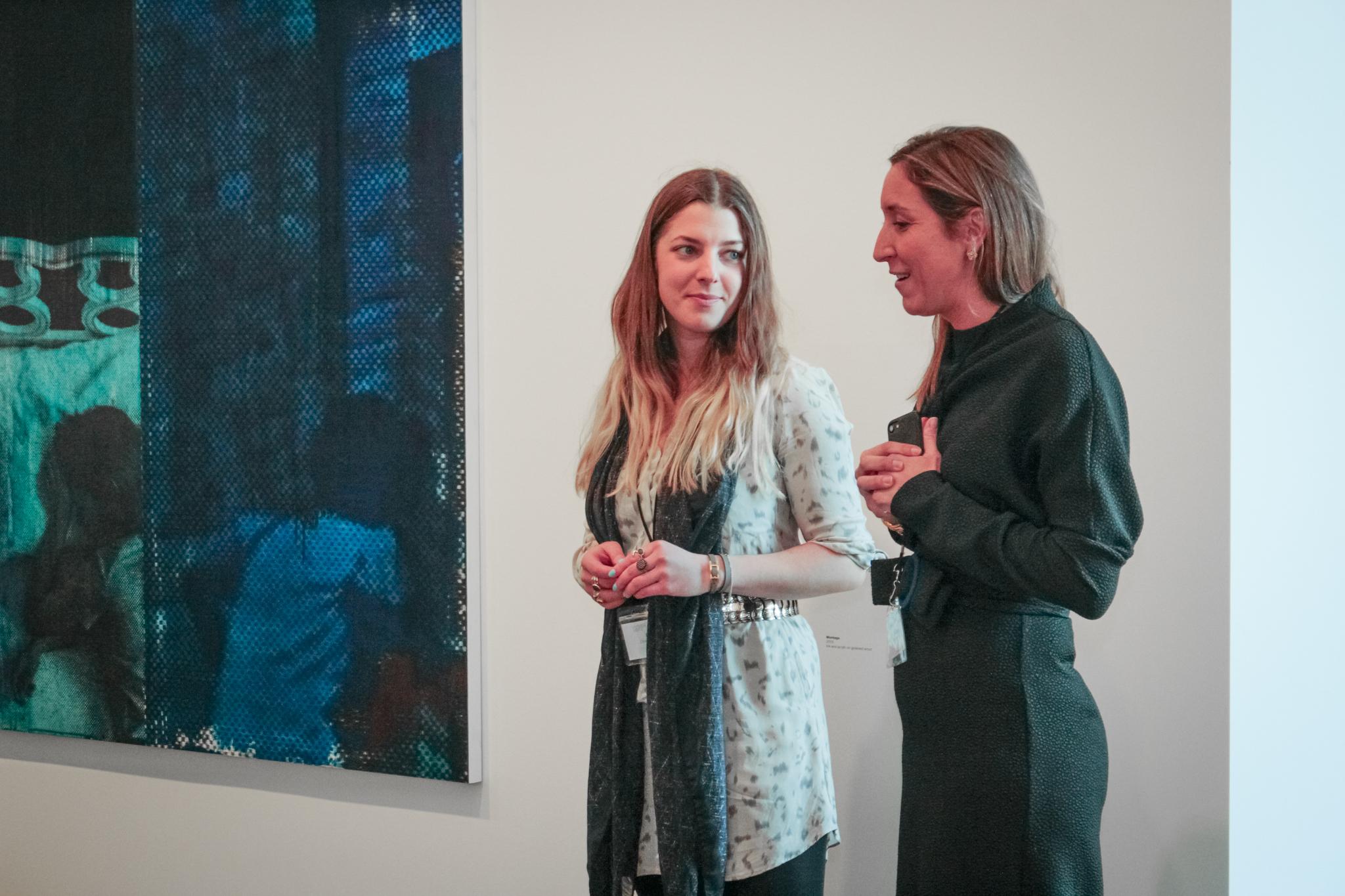 Dea Vanagan and Zoe Sperling