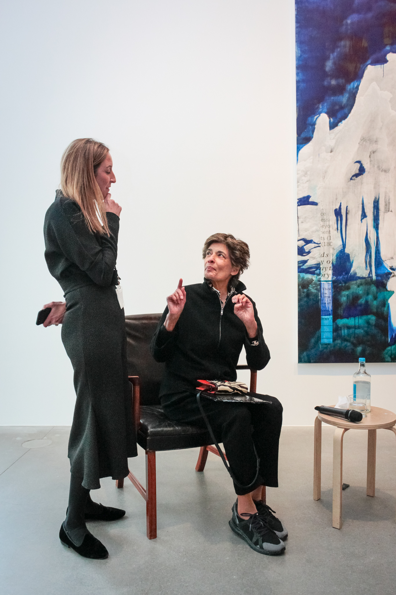 Zoe Sperling and Parveen Adams