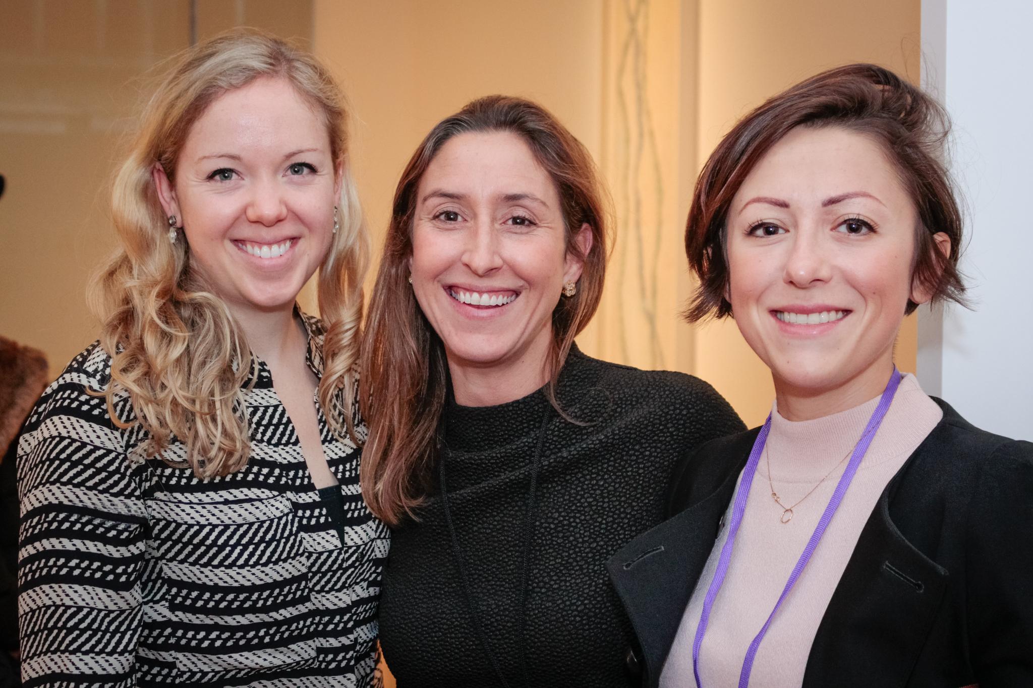 Lucinda Lovell, Zoe Sperling and Kami Naglik