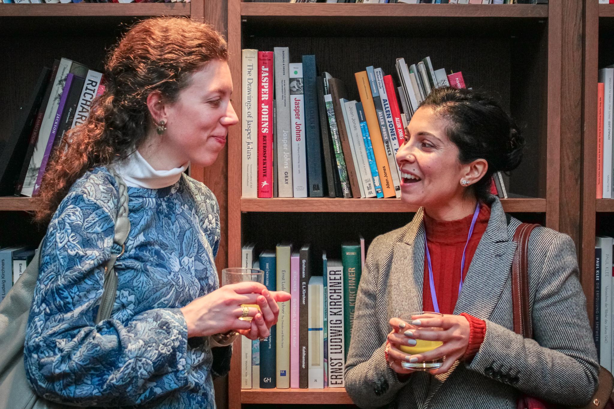 Martina Fusari and Sheetal Varma
