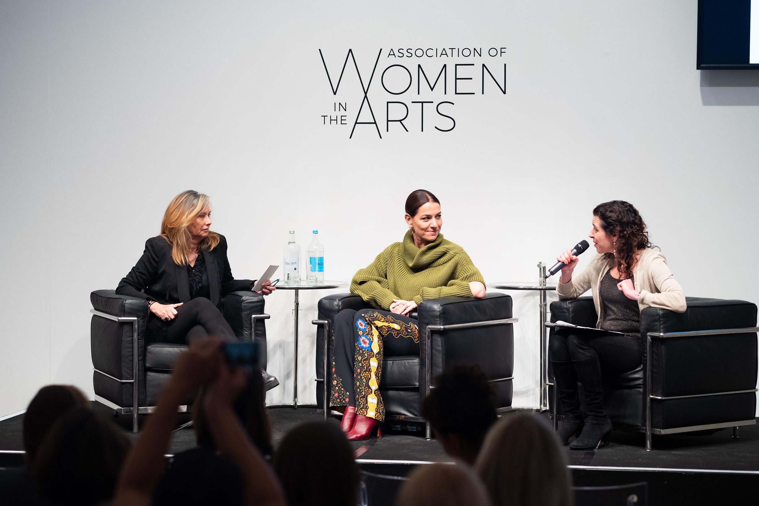 Anita Zabludowicz, Yana Peel and Melanie Gerlis