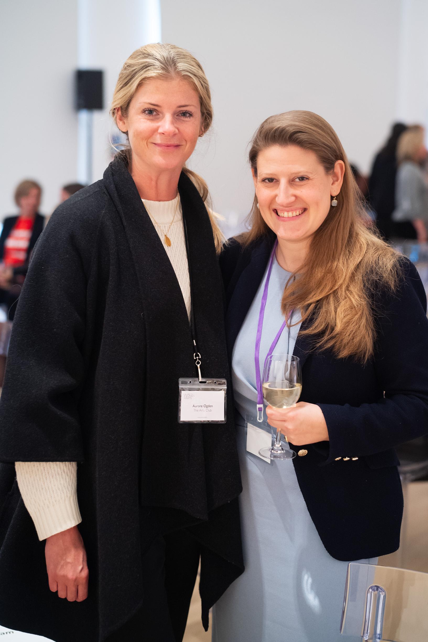 Aurore Ogden and Theodora Clarke