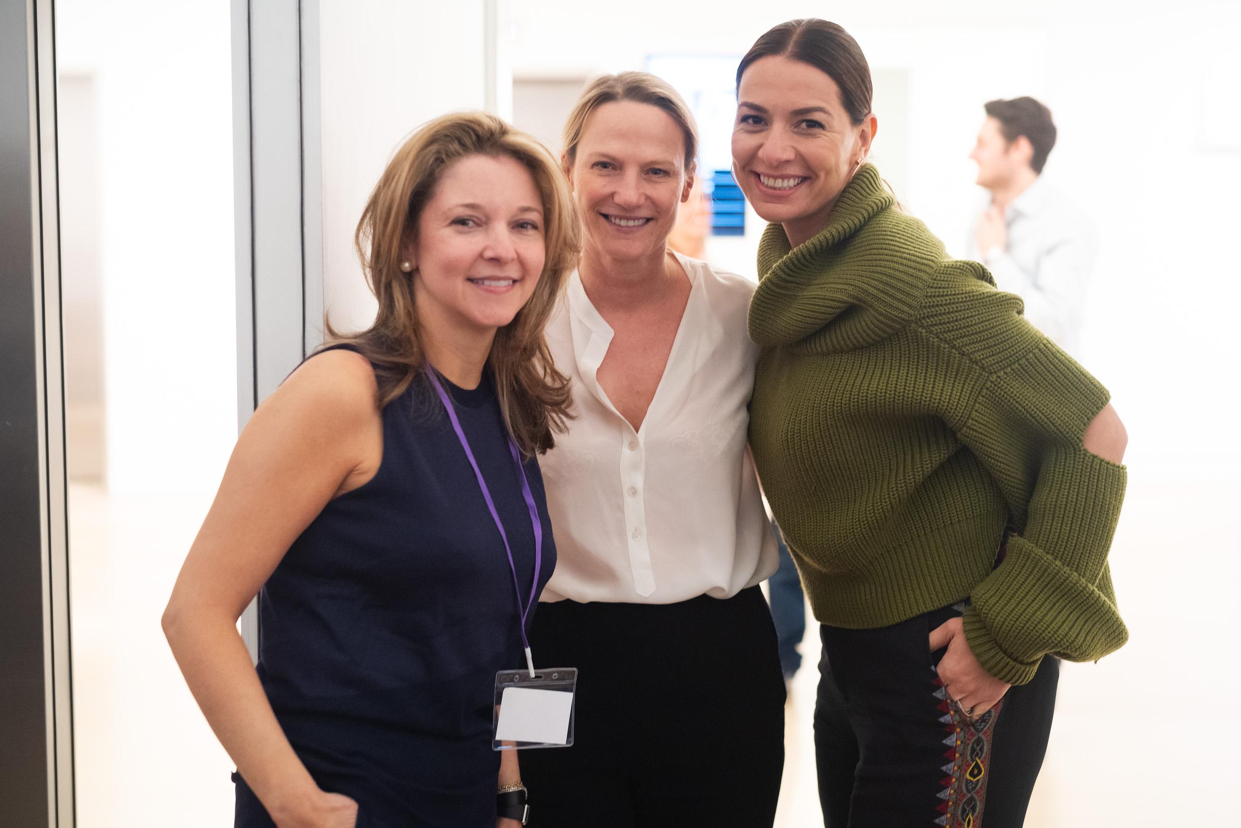 Kate Gordon, Cheyenne Westphal and Yana Peel