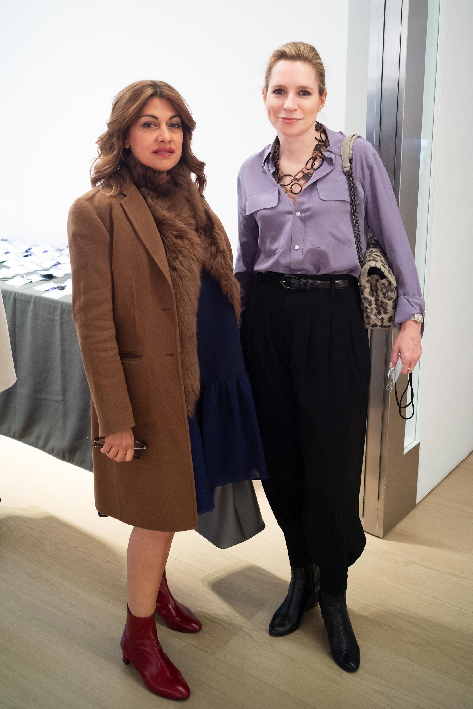 Nazy Vassegh and Wendy Goldsmith
