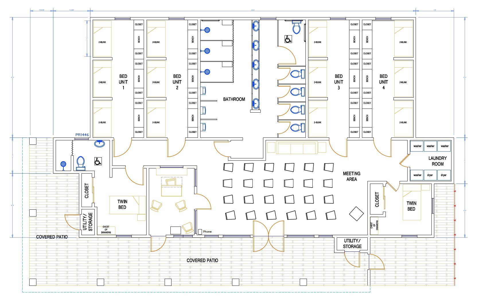 Dormitory - Floorplan