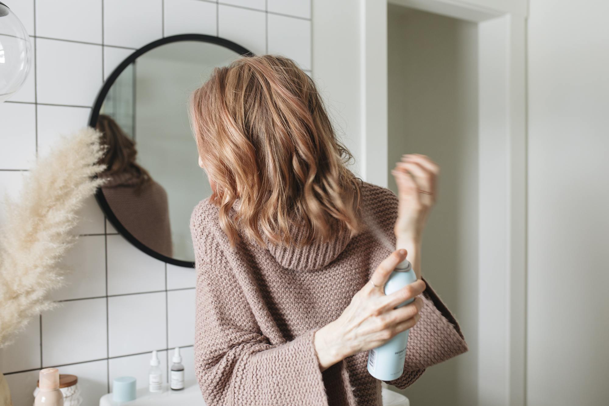 Follow along for my at home hair care routine. There are many ways to color and manage your hair without the expense of a salon and you can do it your way.