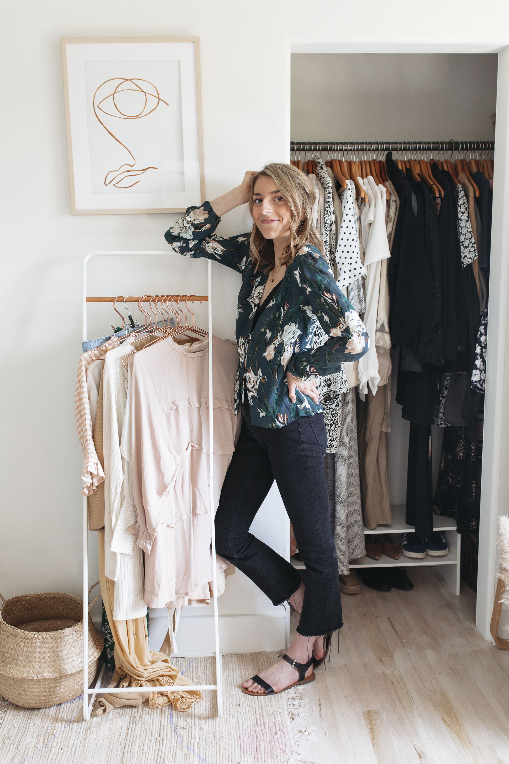 Are you ready to tackle your spring wardrobe!? the transition from the winter season of fashion to spring clothes is one of my favorite times of year to get creative.