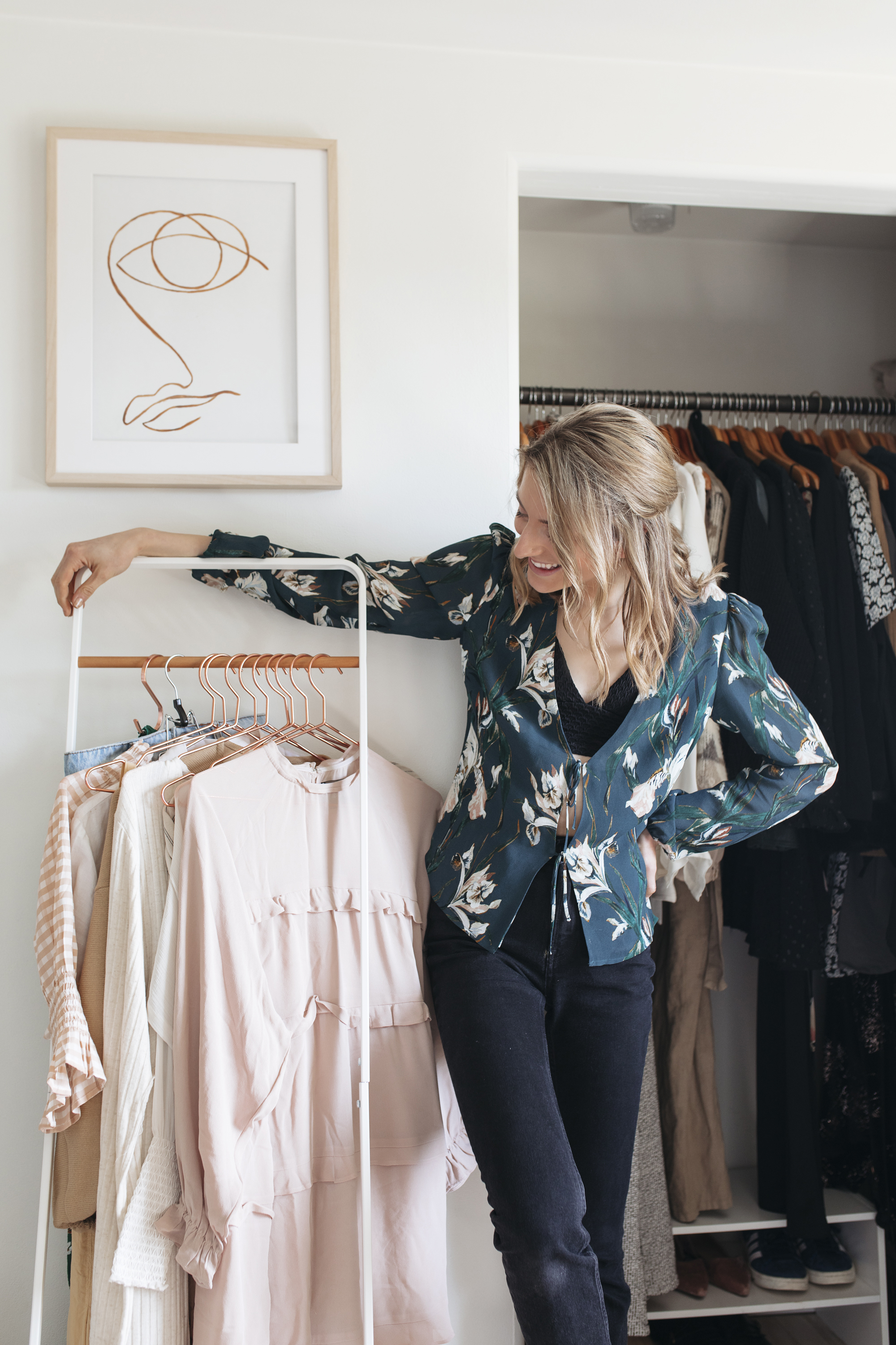 Getting my wardrobe ready for spring is one of my creative channels. Read my blog for more creative ideas to get ready for spring!