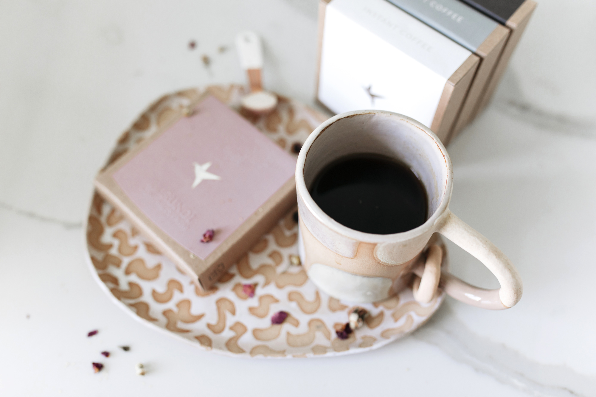 My morning routine often begins with a cup of coffee. These are two of my favorite recipes that kickstart my day and get the creativity flowing