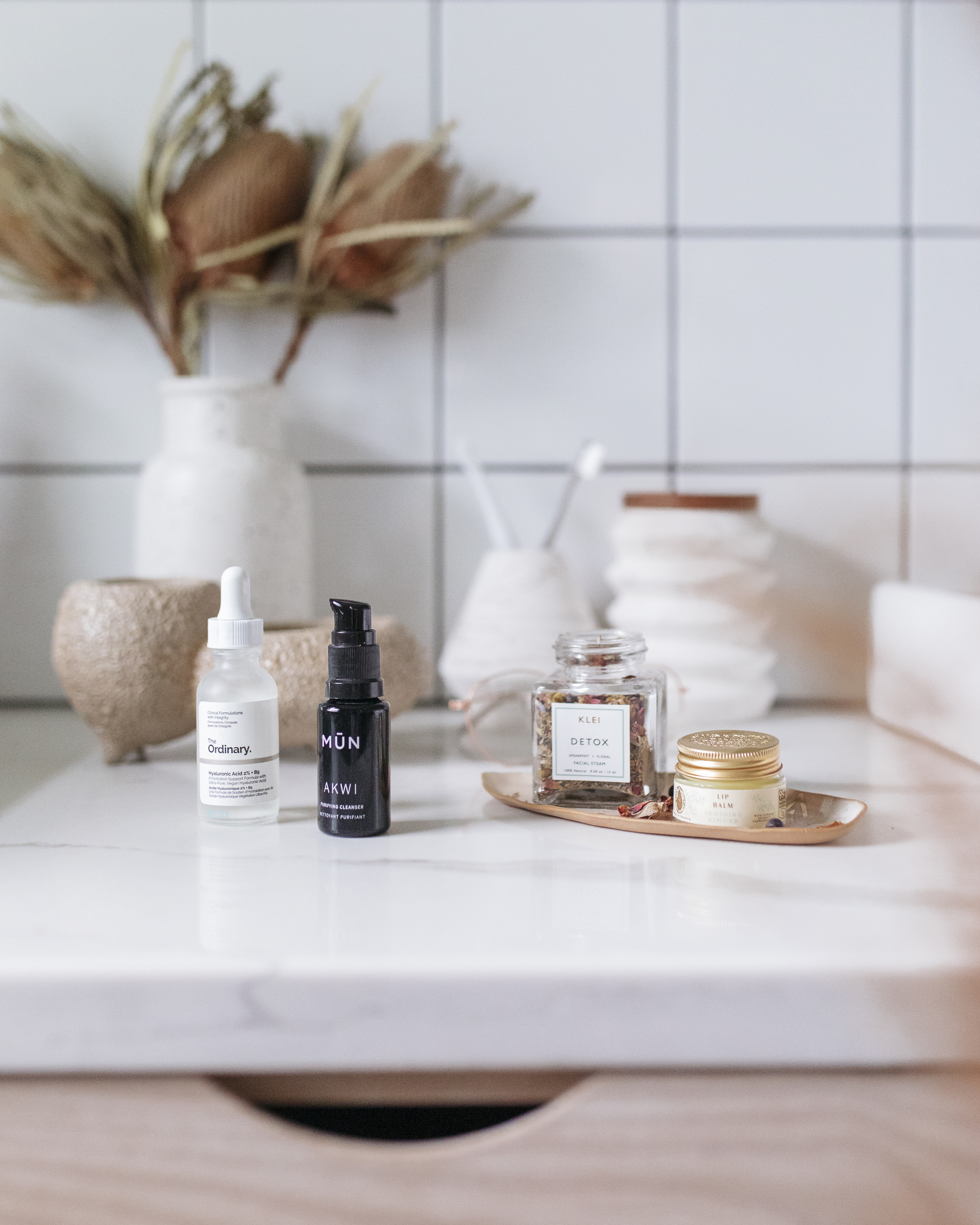 Here are some of the oils and products I use to hydrate and clean my face each night. Developing a nightly skin care routine is so important to nourish your skin, relax, and stay healthy
