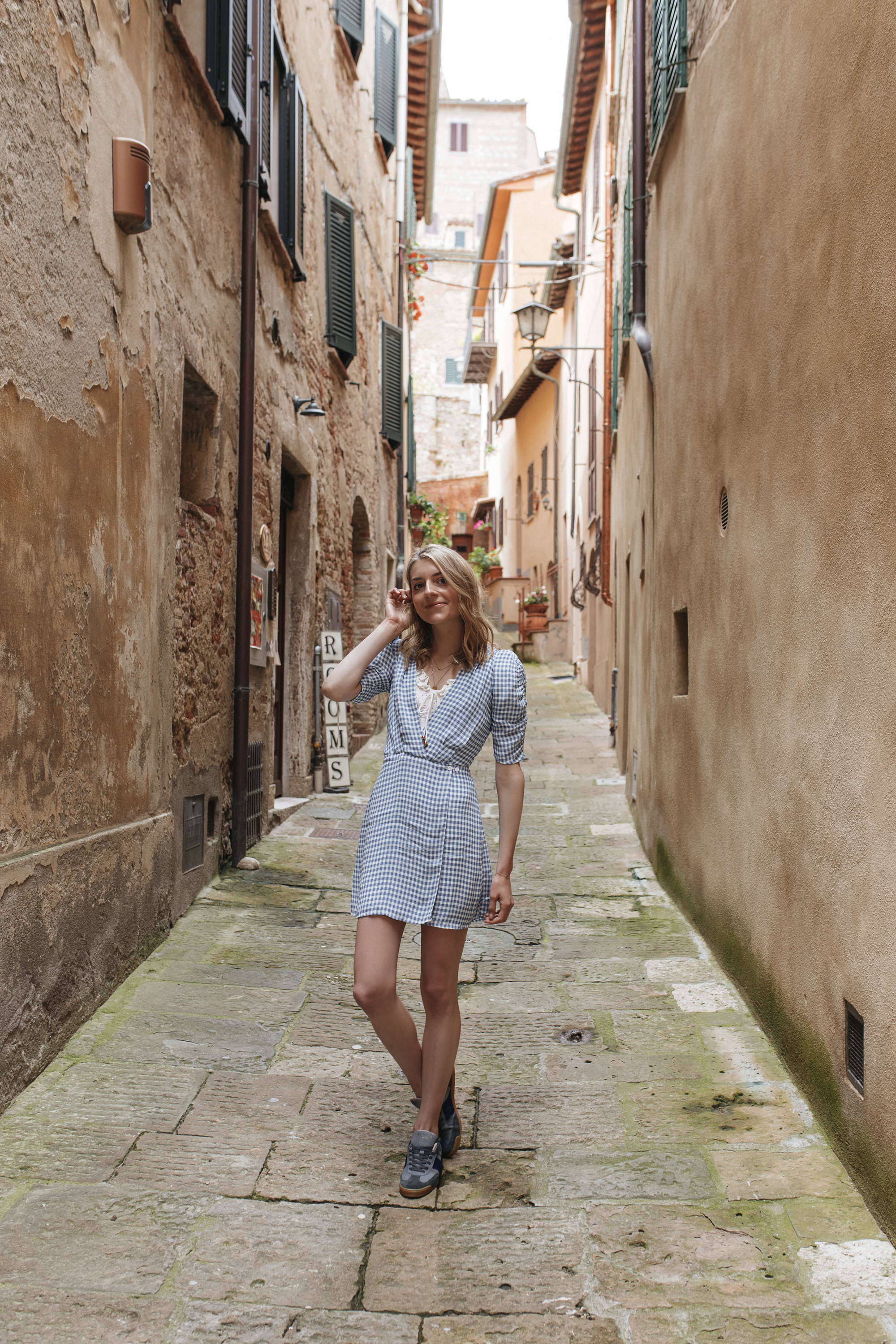 Life is too short to take every day and yourself so seriously. I loved how much Italian culture revolved around enjoying life's simple pleasures and being in the present moment.